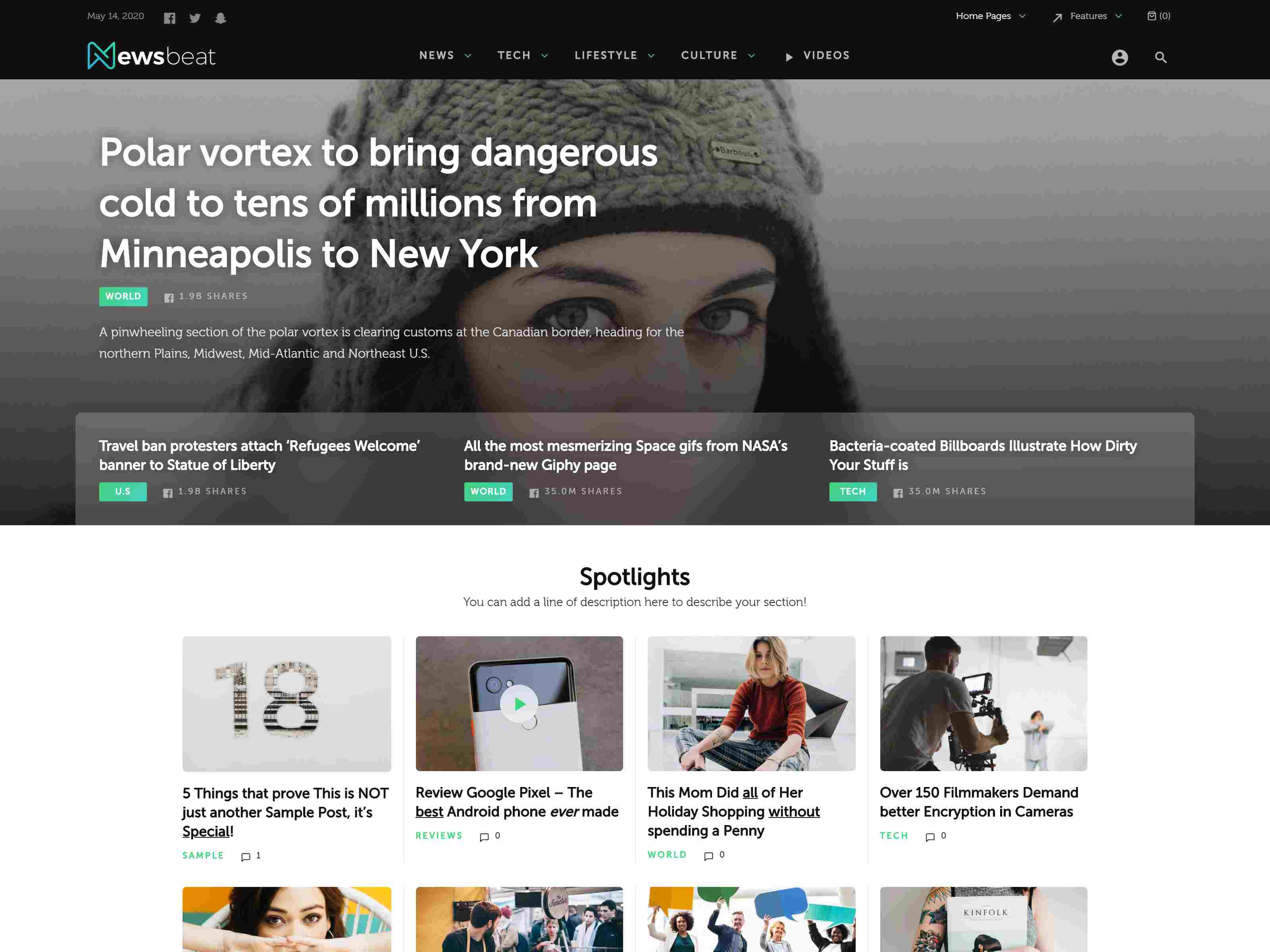 Best Premium Electronic WordPress Themes