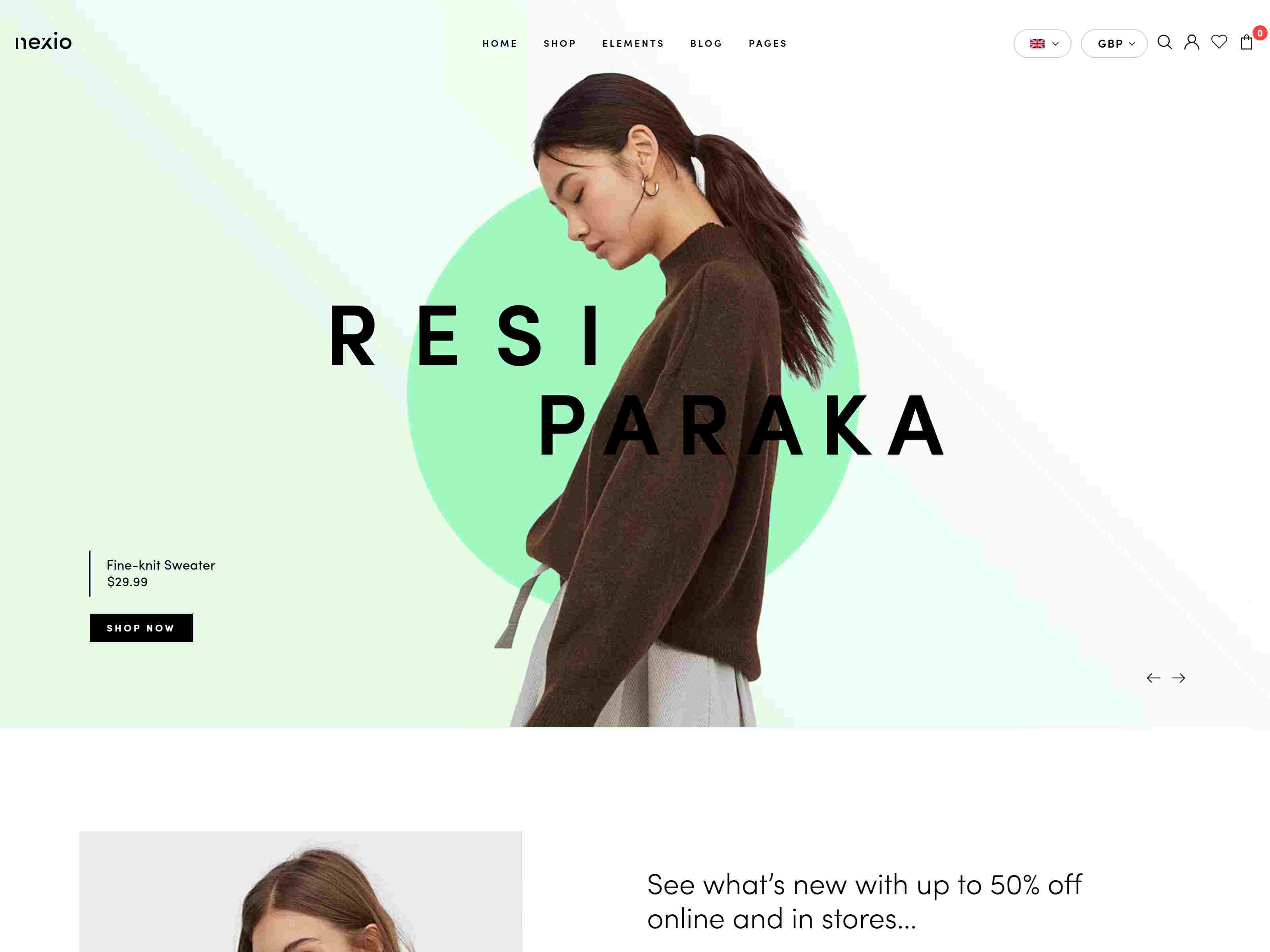 Nexio - Fashion WooCommerce Theme + RTL