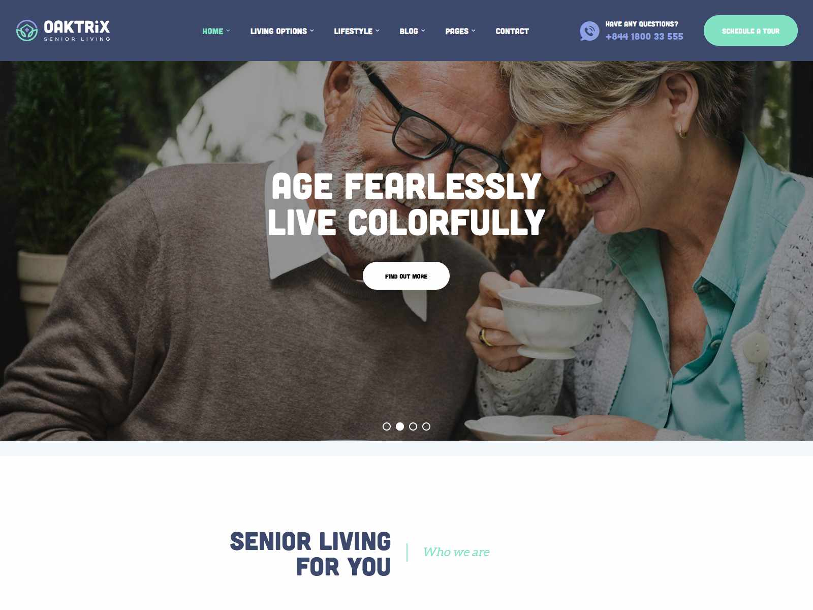 Best Premium Aged Care WordPress Themes