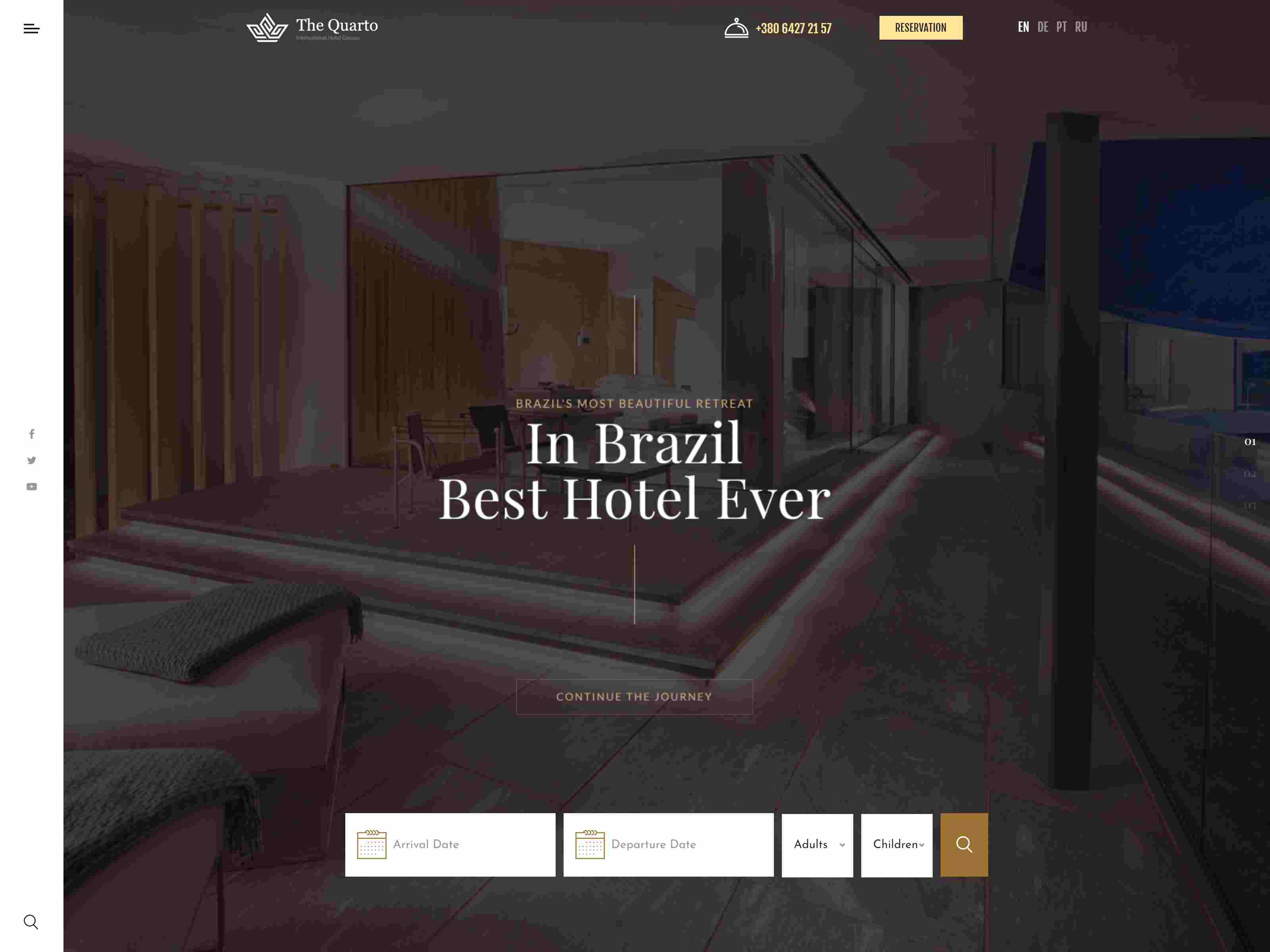 Best Premium Hotel WordPress Themes