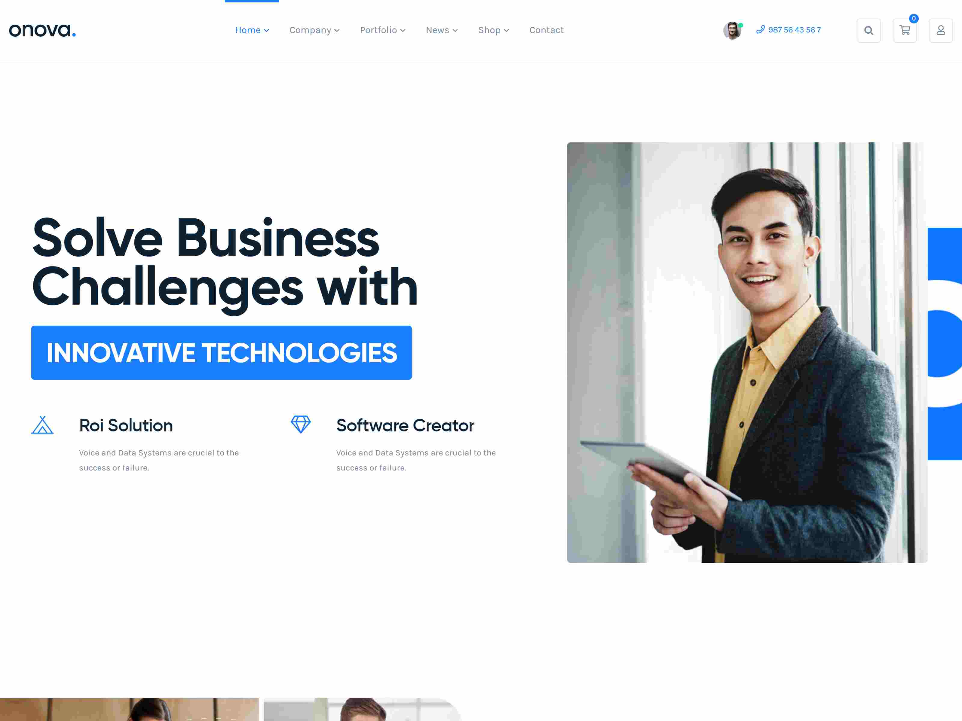Onova - IT Solutions and Services Company WordPress