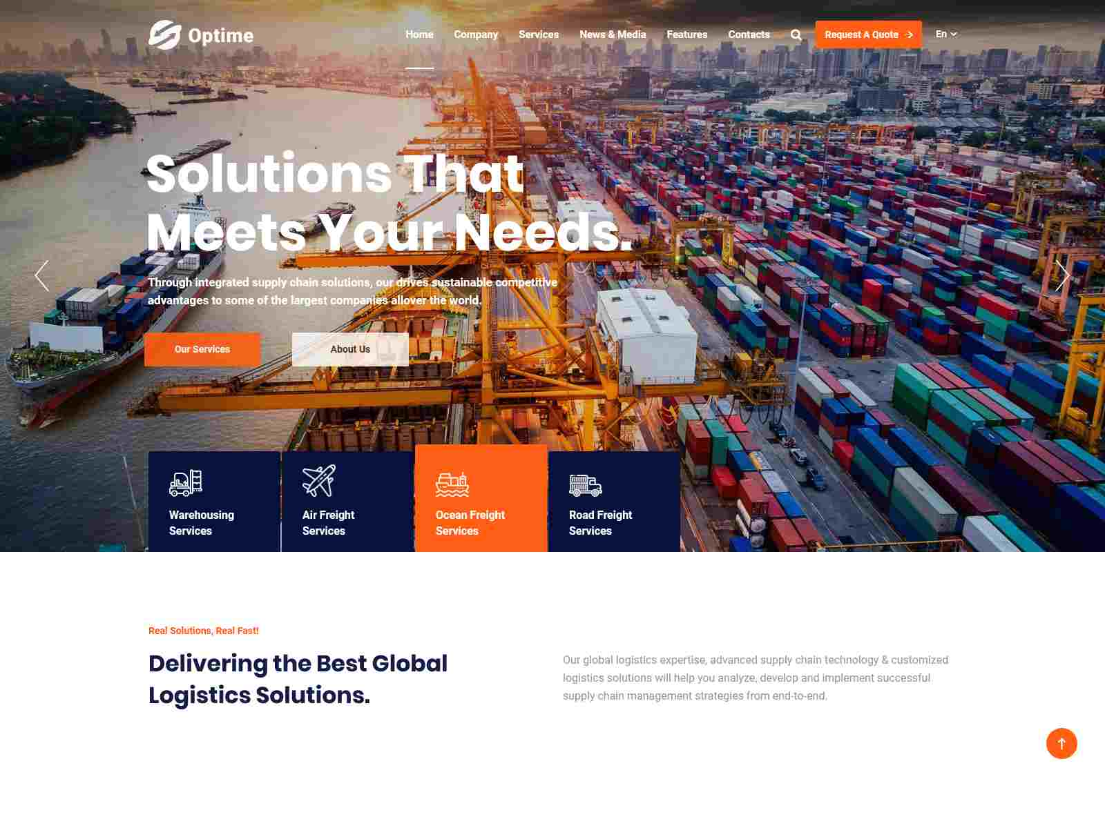 Best Premium Cargo WordPress Themes