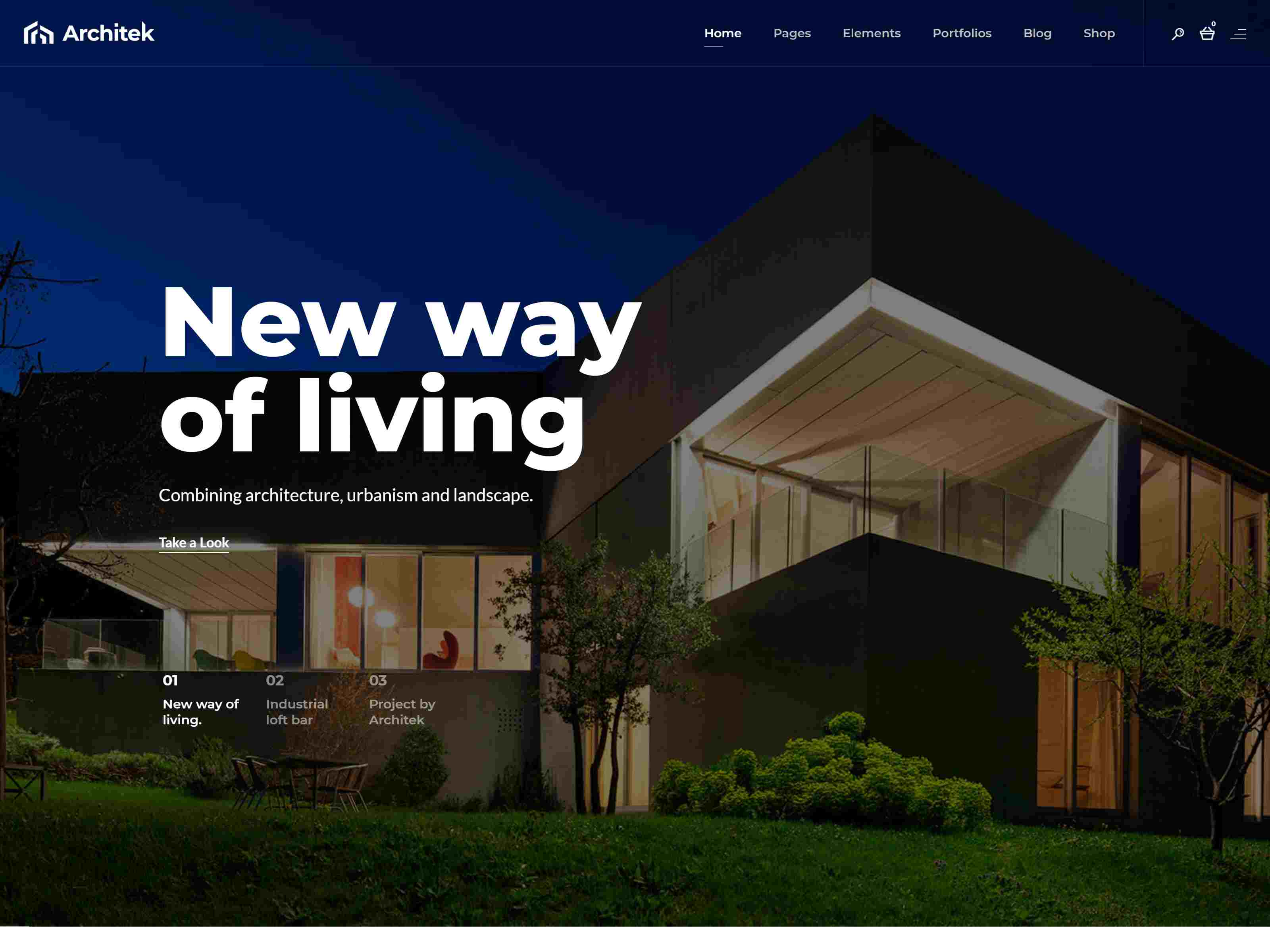 Best Architecture WordPress Theme and Real Estate WordPress Theme