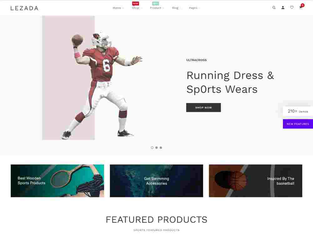Best Premium Sports Shop Shopify Themes