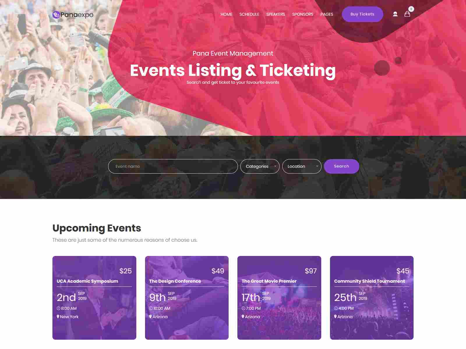 Best Premium Event Drupal Themes