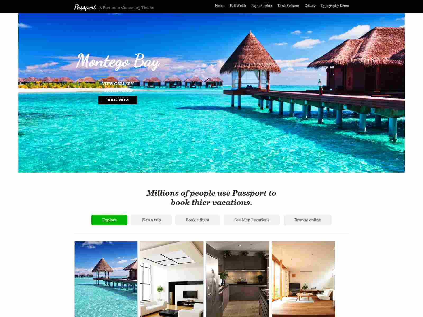 Best Premium Travel Concrete5 Themes