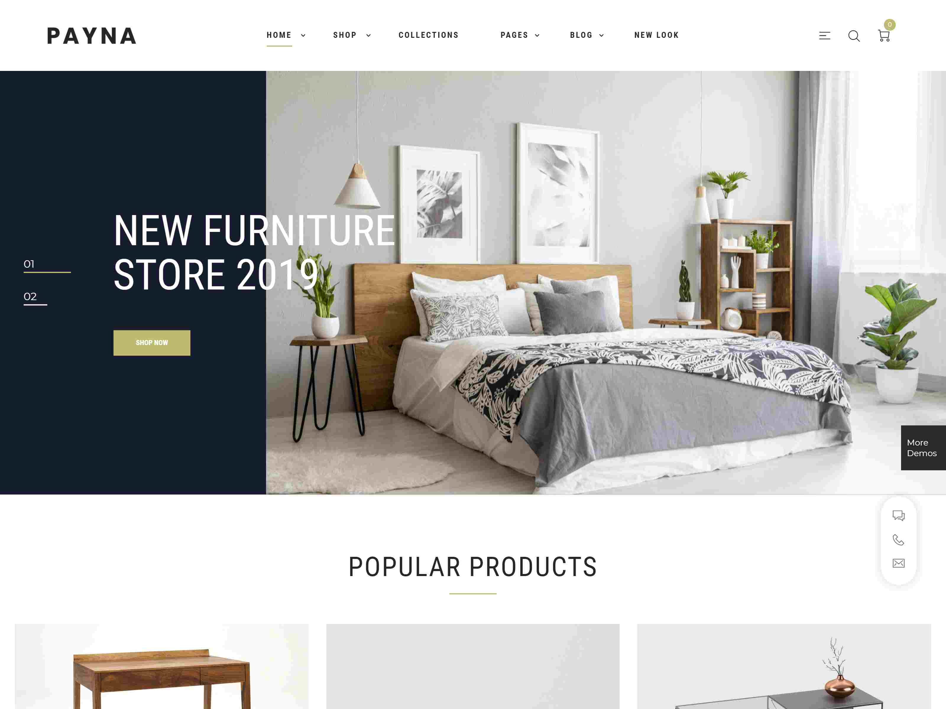 Payna - Clean, Minimal WooCommerce Theme