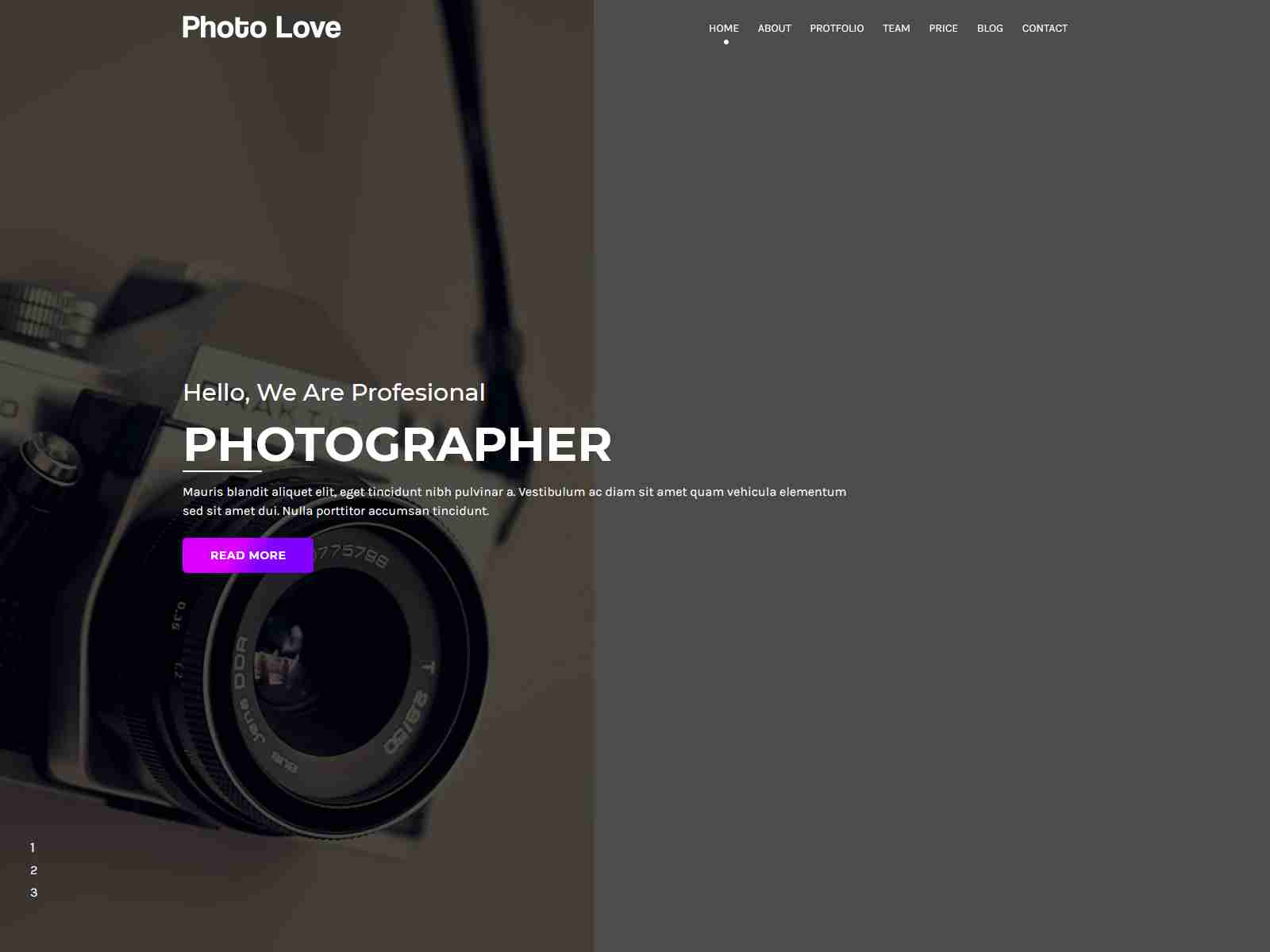 Photolovey - Corporate and Business Jekyll Template