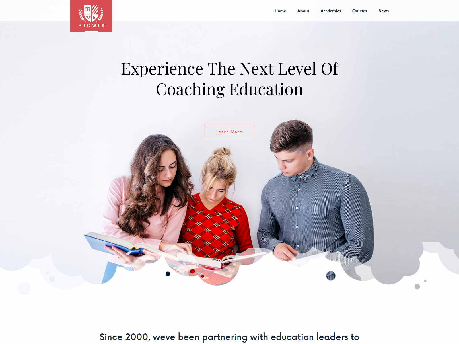 Picwik - University & Coaching WordPress Theme
