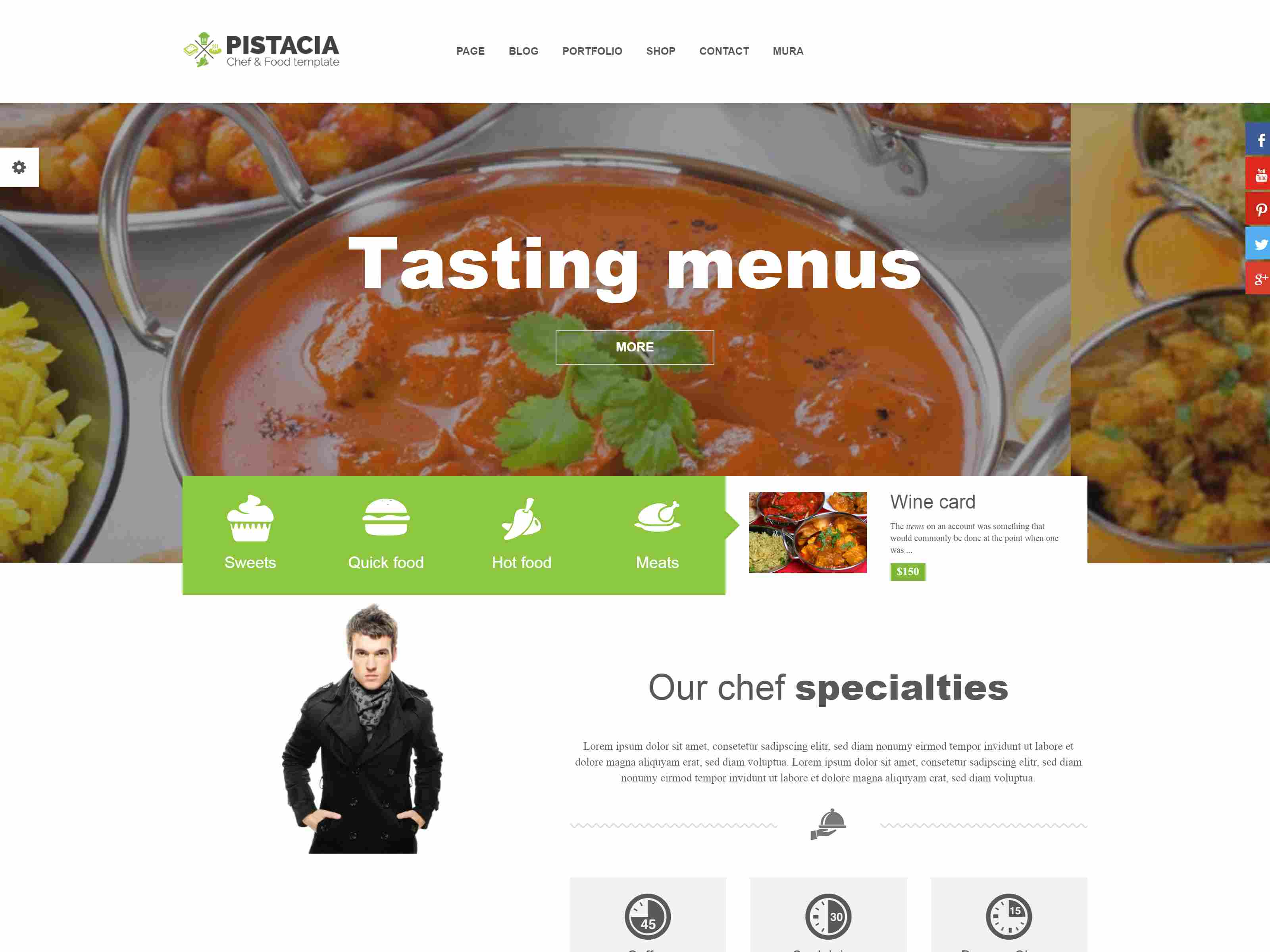 Best Premium Restaurant Mura Themes