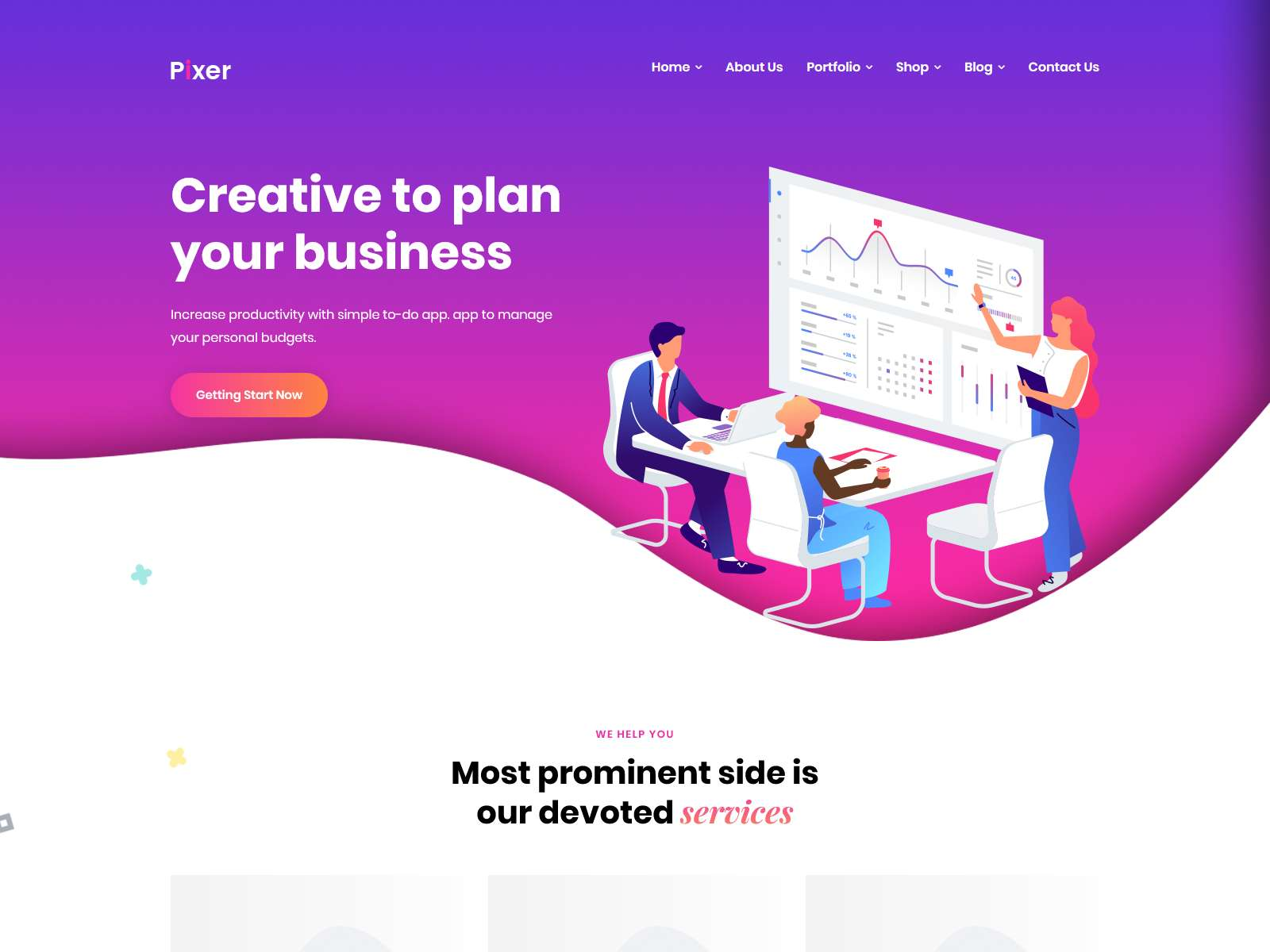 Pixer - Digital Agency WordPress