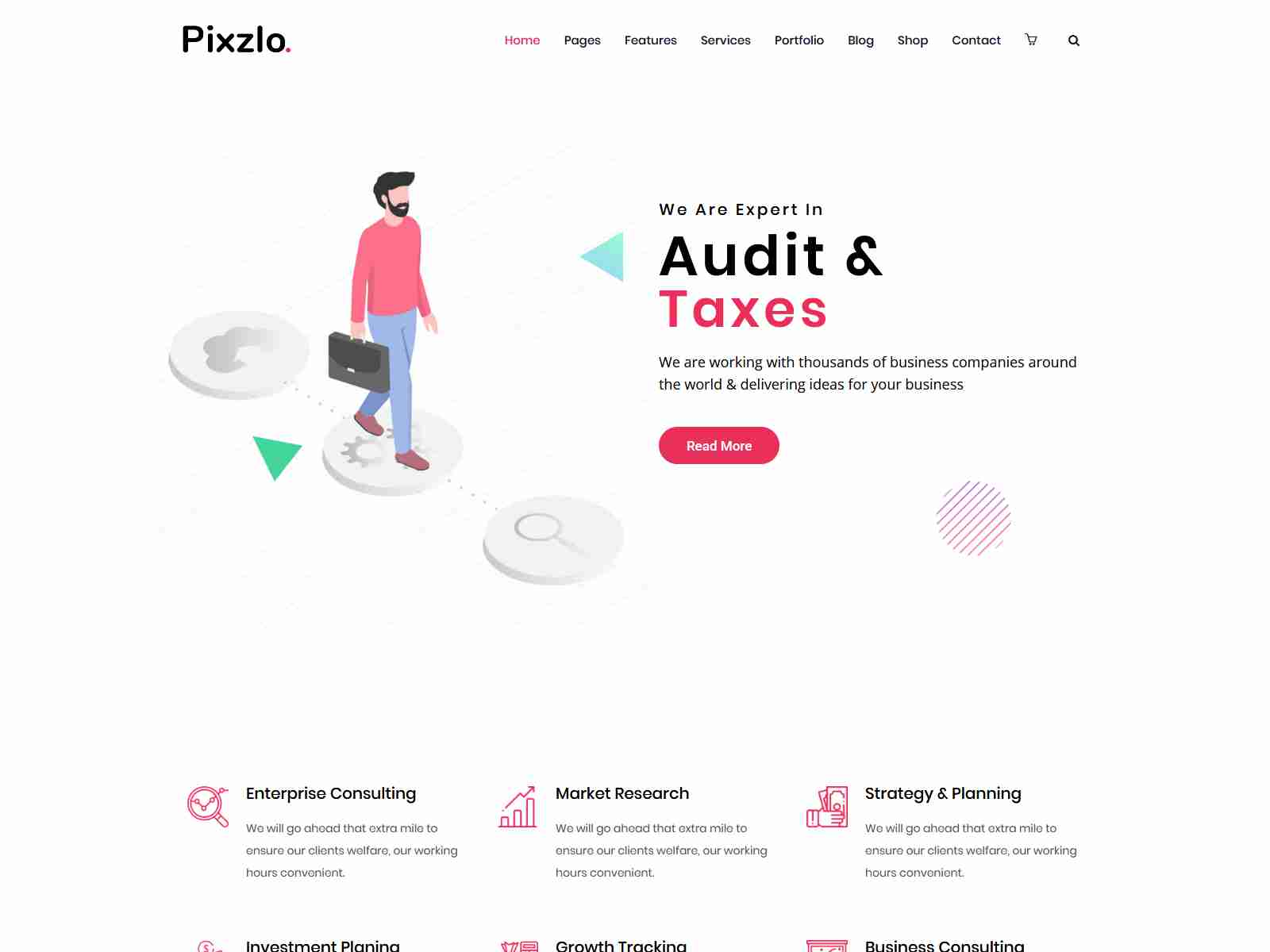 Pixzlo - Creative Theme for Professionals