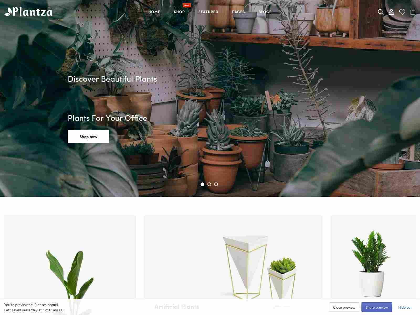 Best Premium Garden Shopify Themes