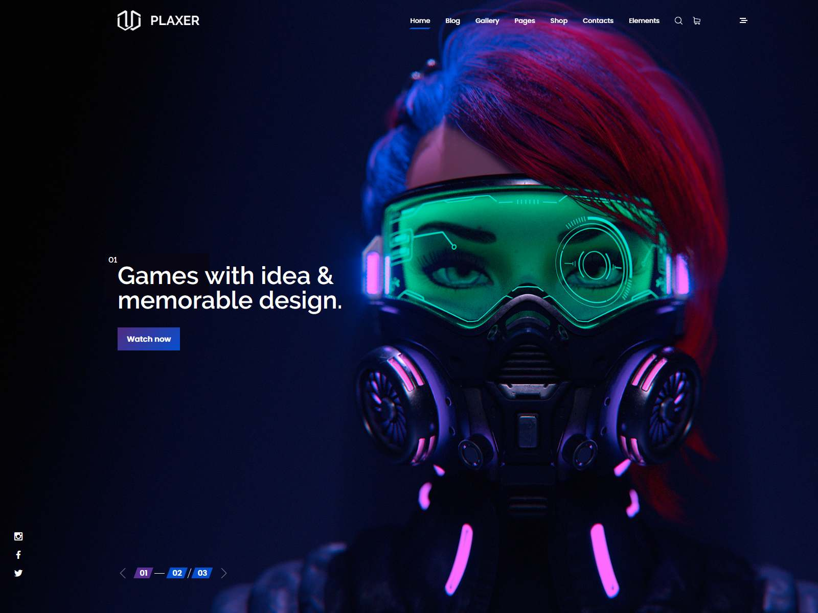 Plaxer - Gaming and eSports WordPress wordpress news themes