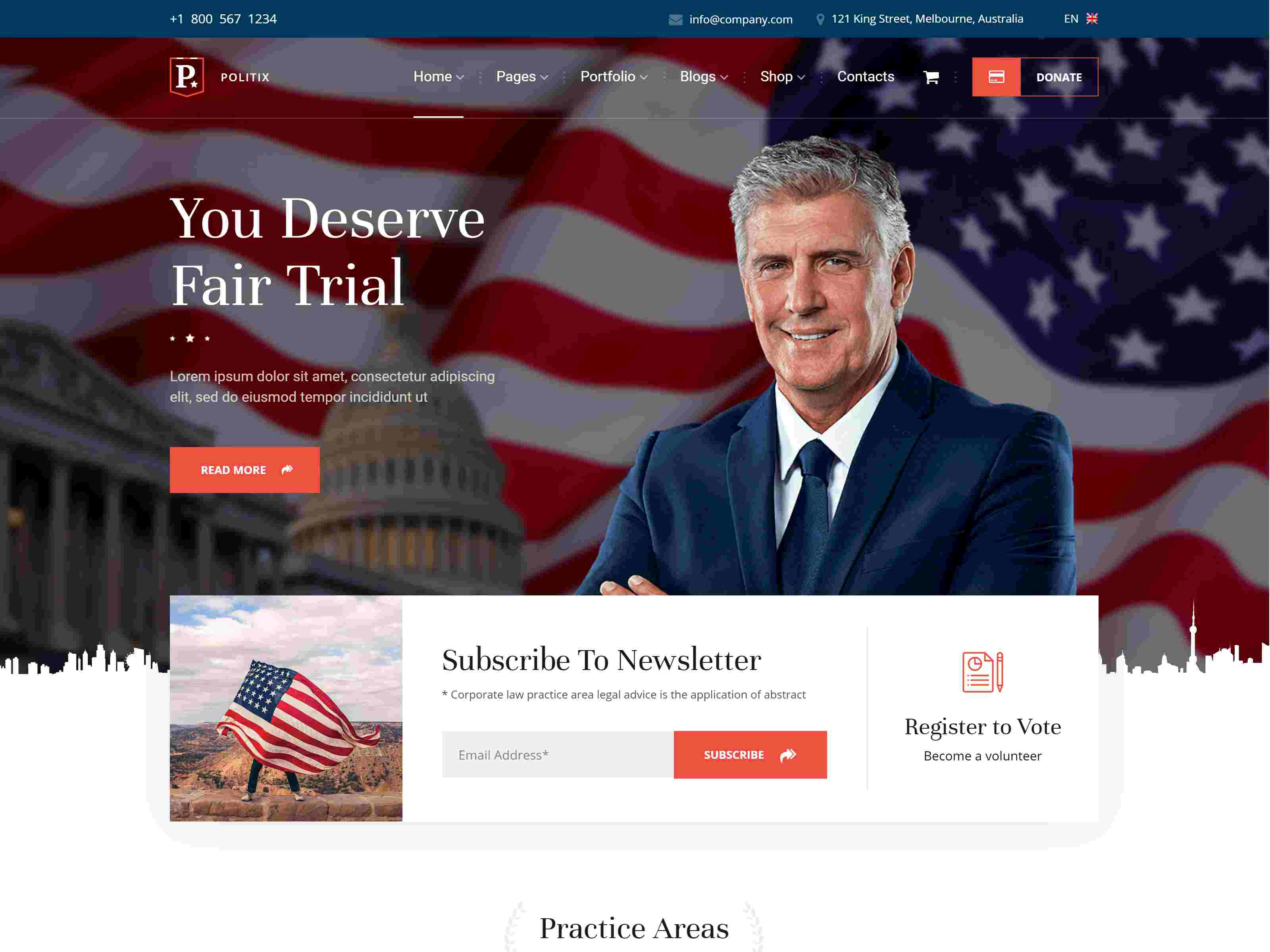 Best Premium Political WordPress Themes