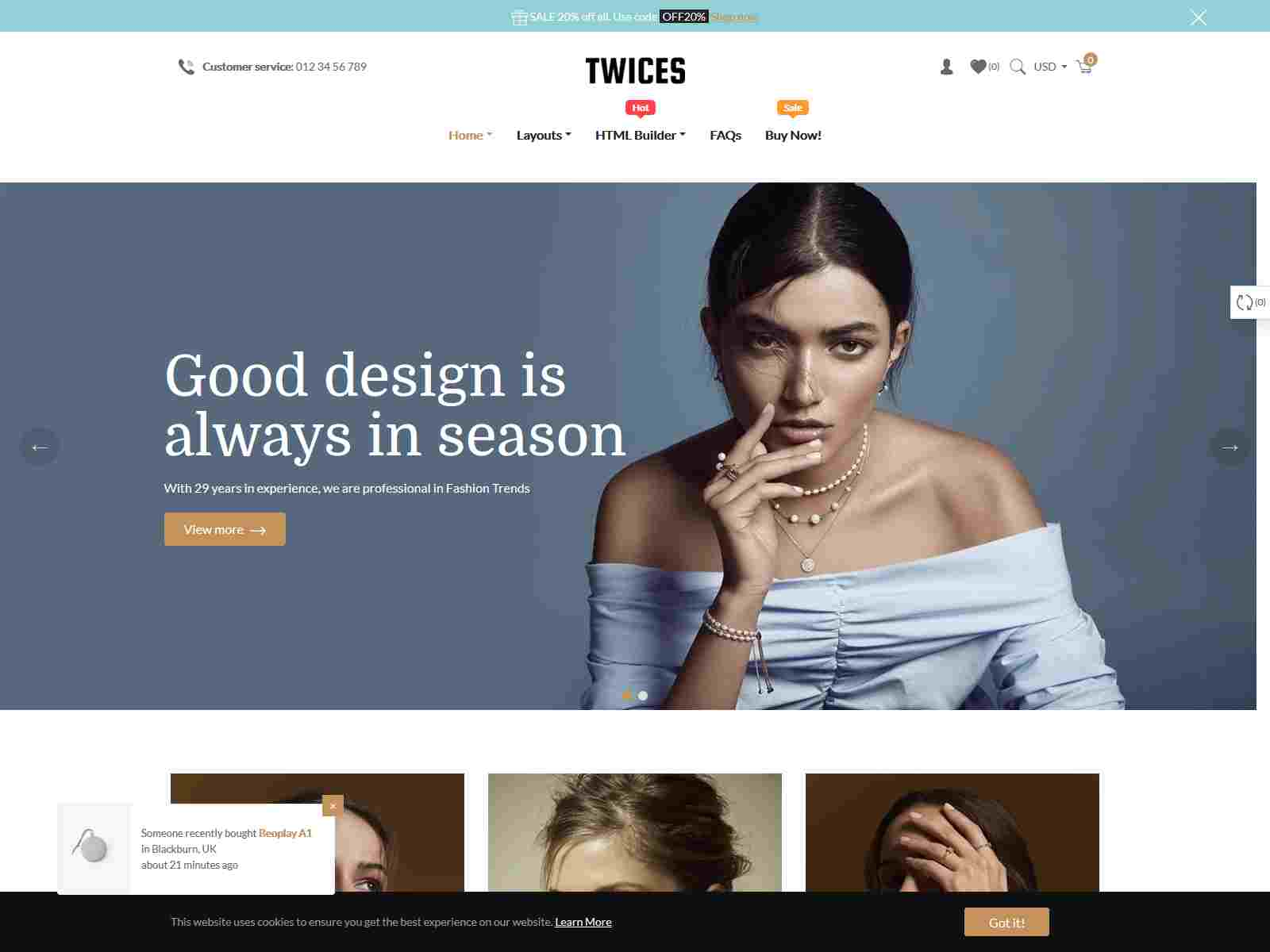 Ap Twices - All-in-one eCommerce Shopify Theme