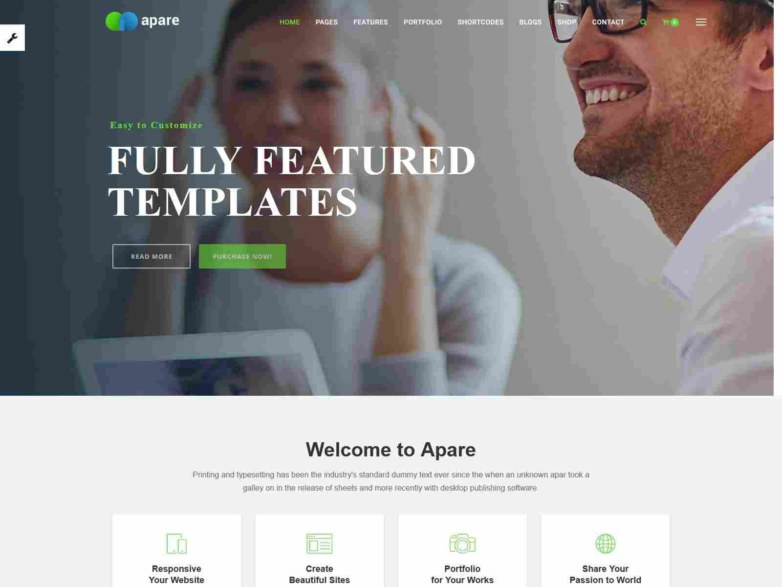 Apare - Responsive Multi-Purpose Drupal 8.8 Theme