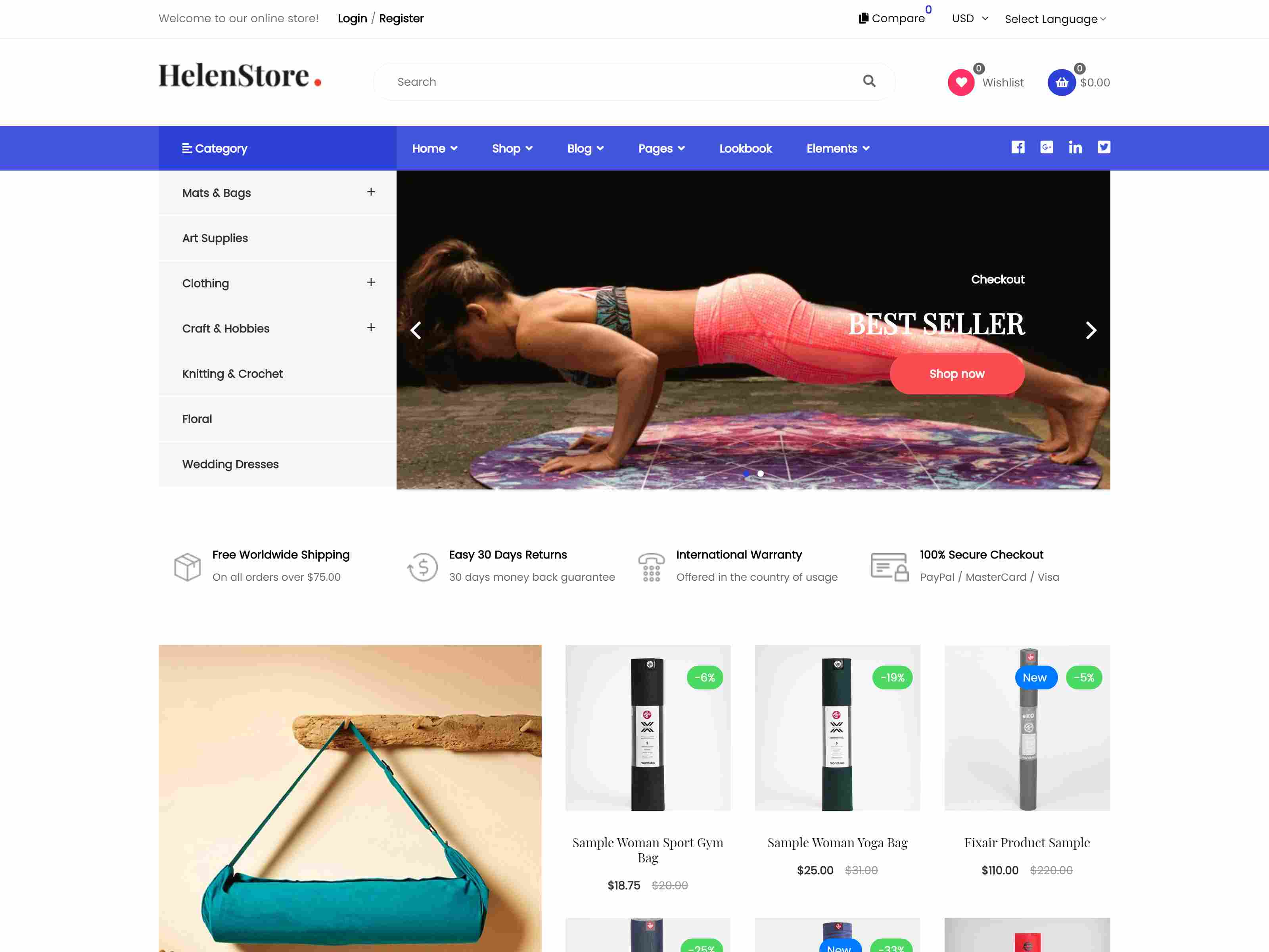 Art & Photography Shopify Theme - Helen