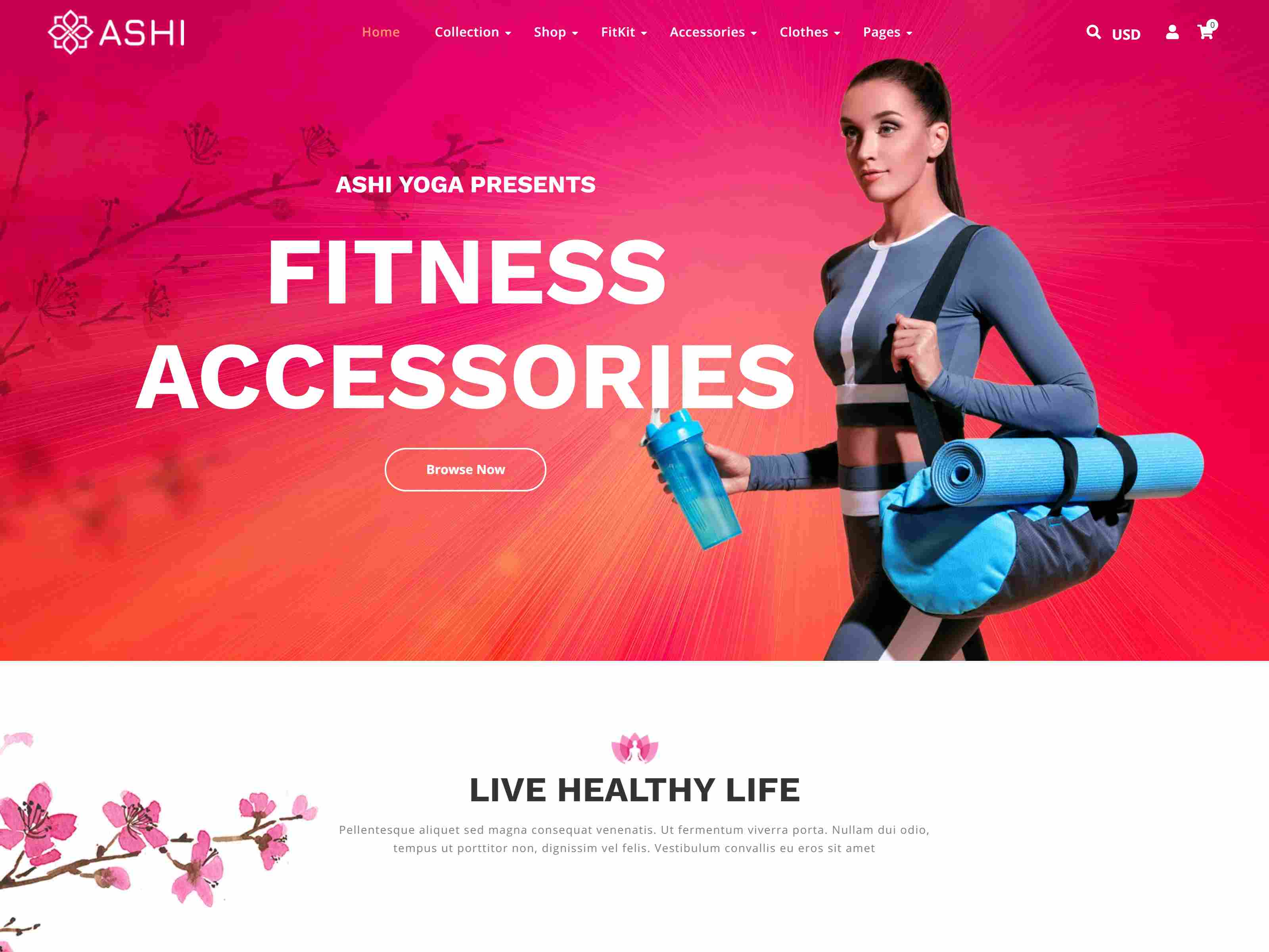 Best Premium Yoga Shopify Themes