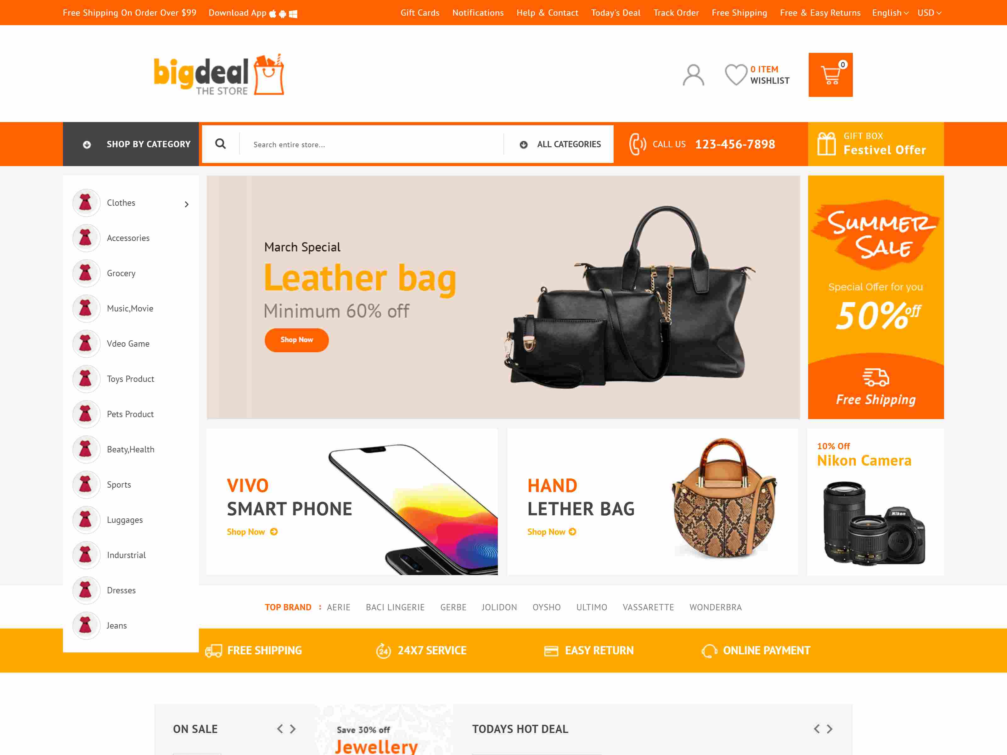 Best Premium Marketplace PrestaShop Themes
