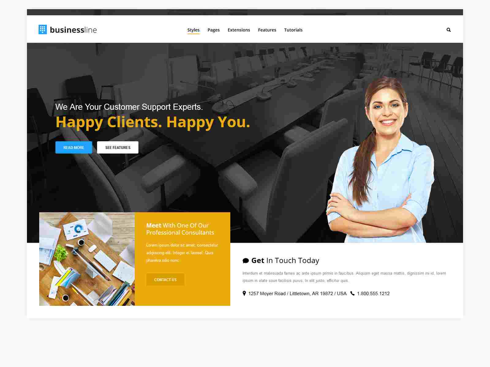 Best Premium Business Joomla Themes