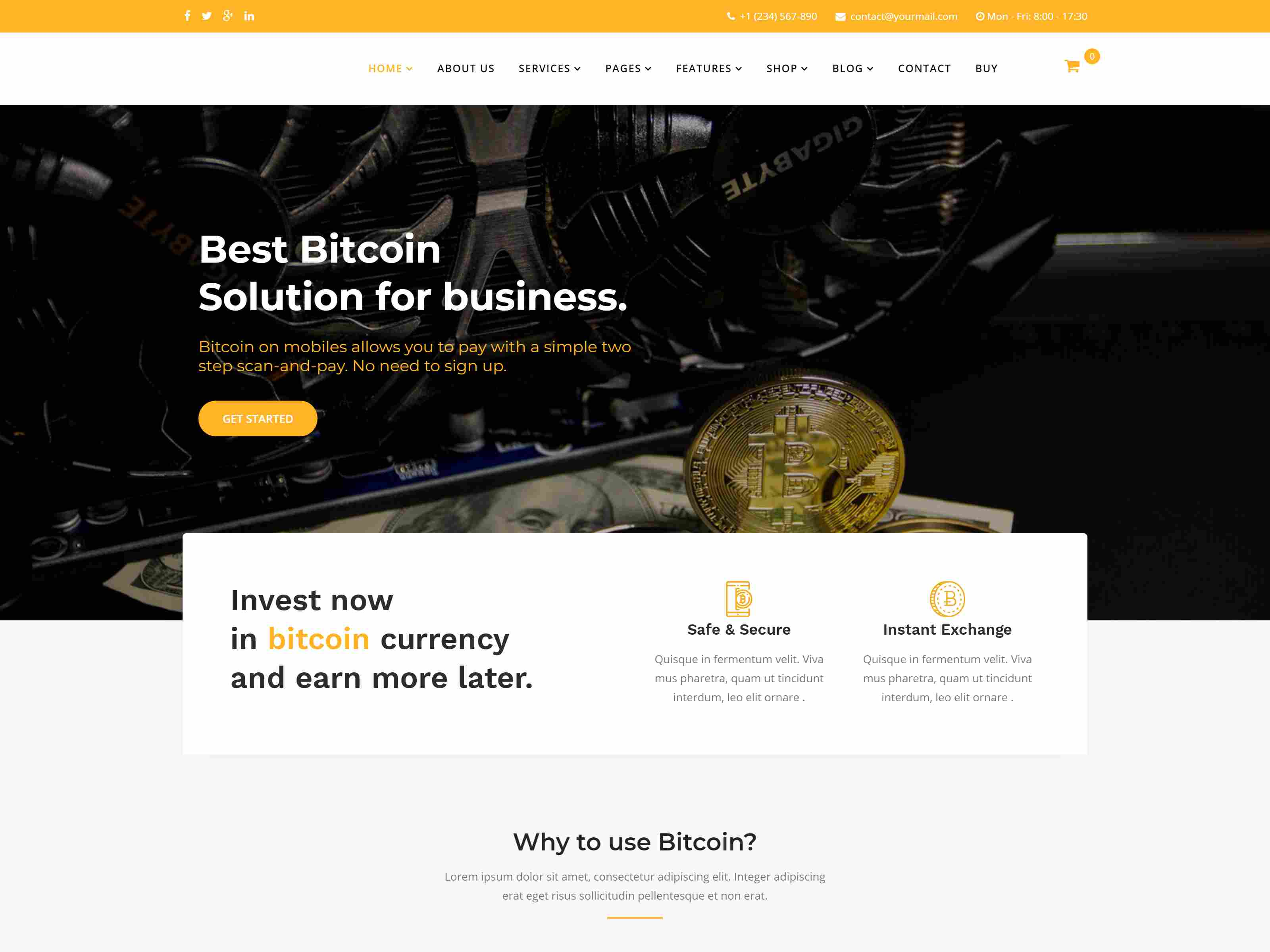 Cryptobite - Cryptocurrency Bitcoin & Digital currency Joomla