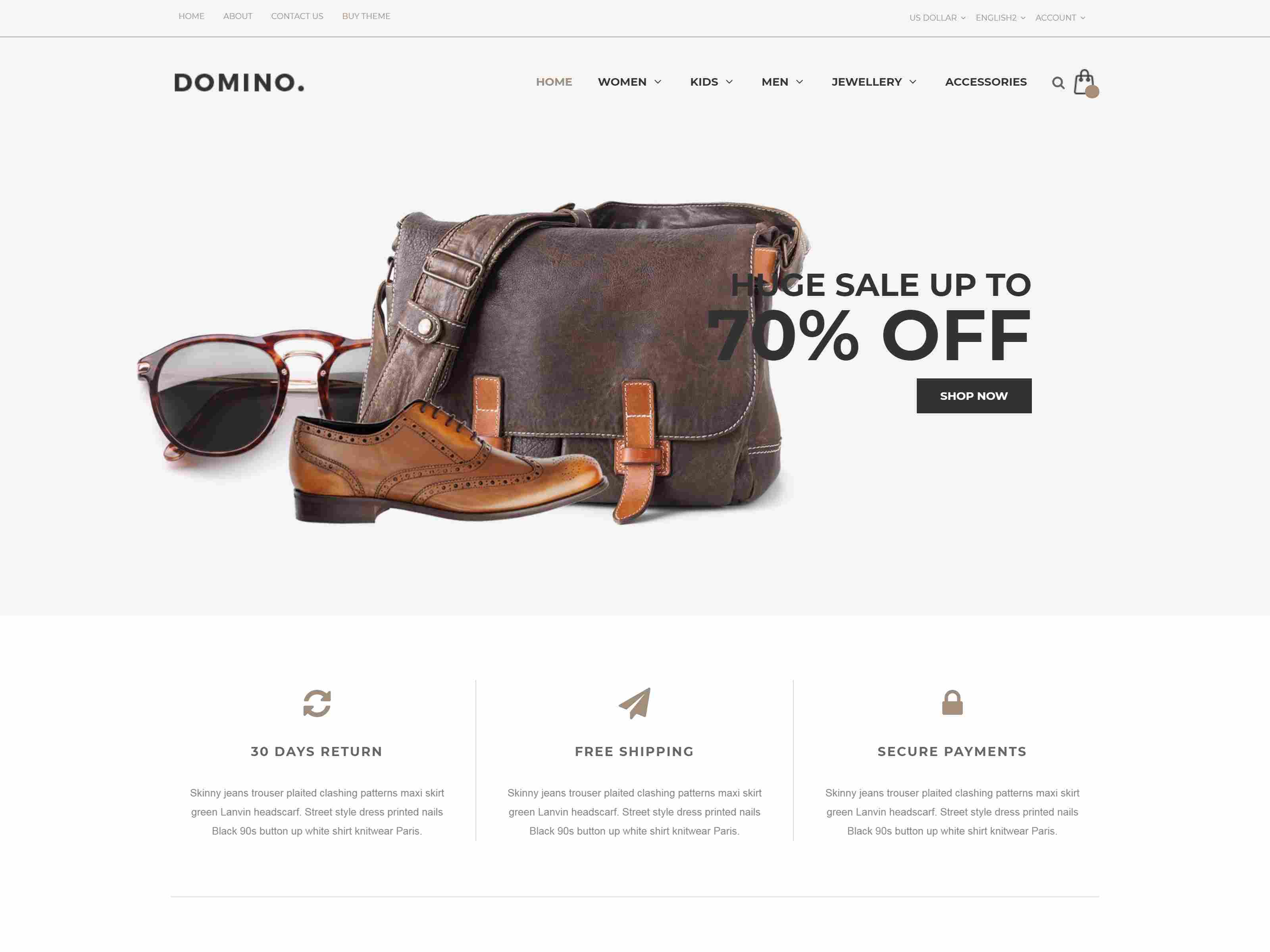 Best Premium Barber Magento Themes
