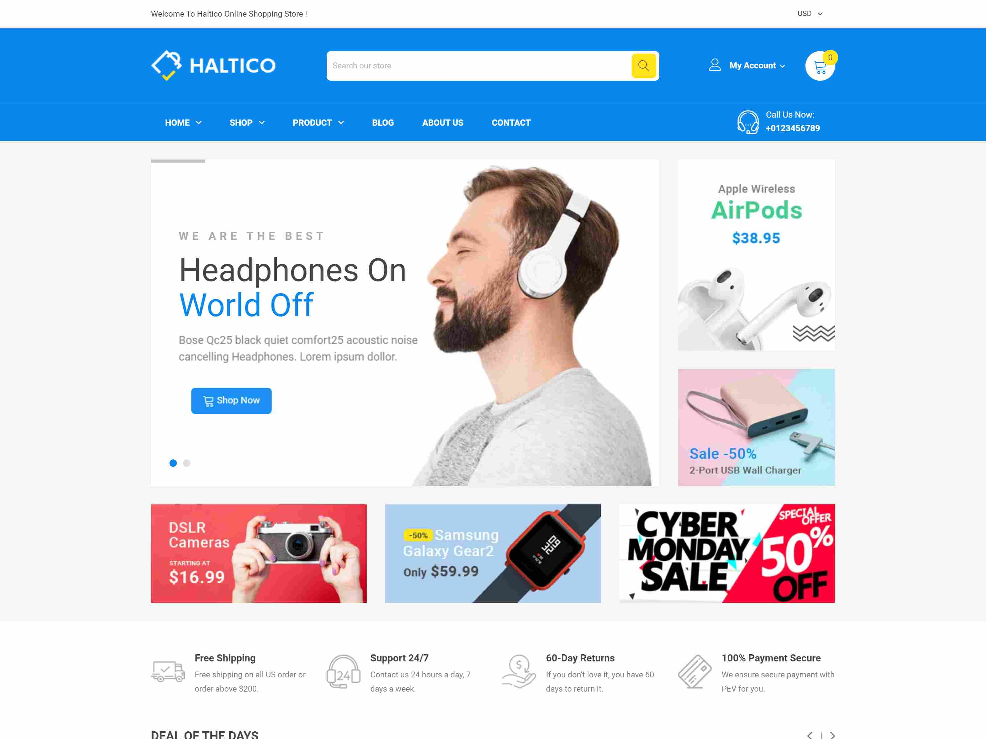 Best Premium Electronic Shopify Themes