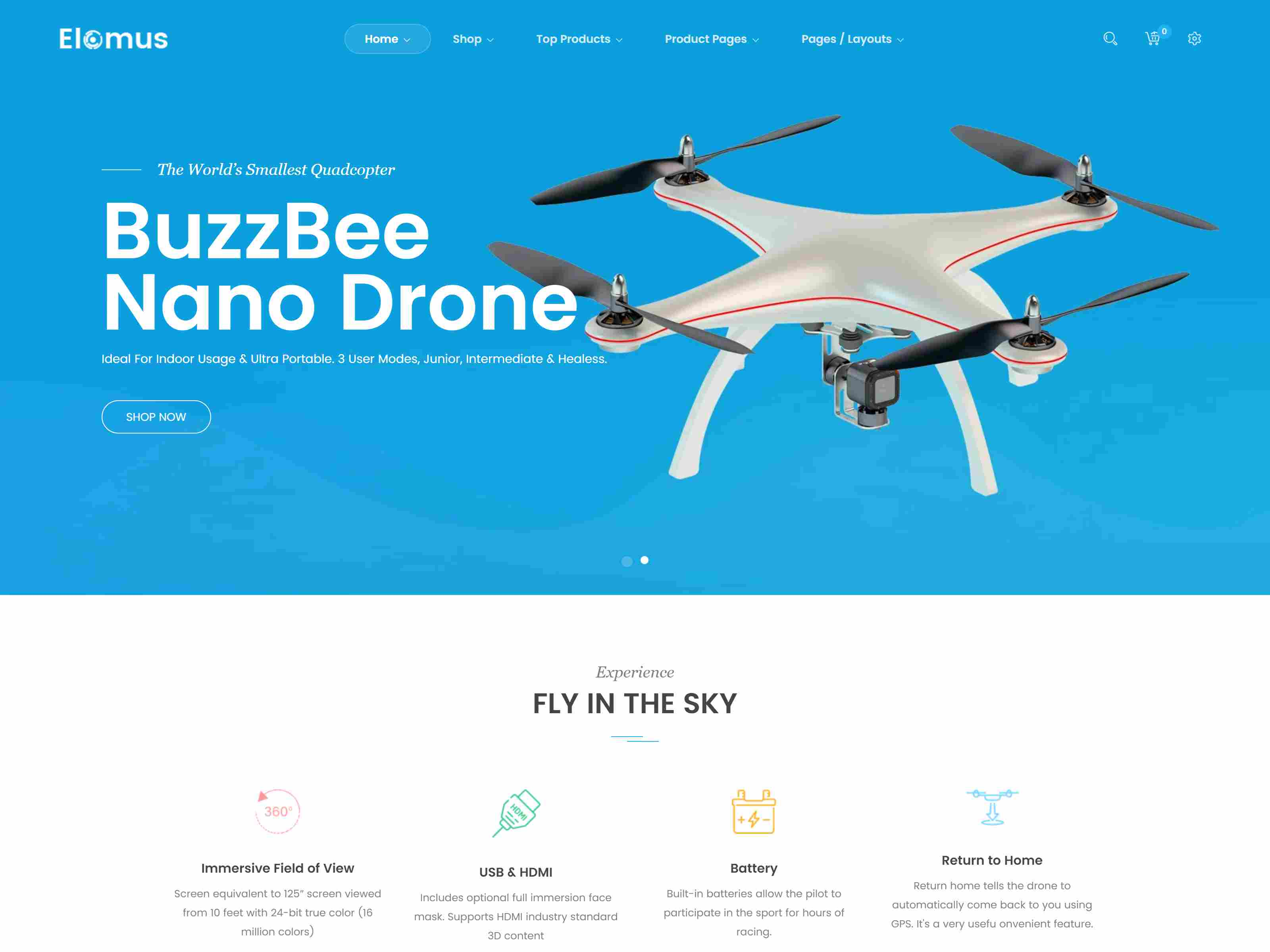 Best Premium Drone Shopify Themes