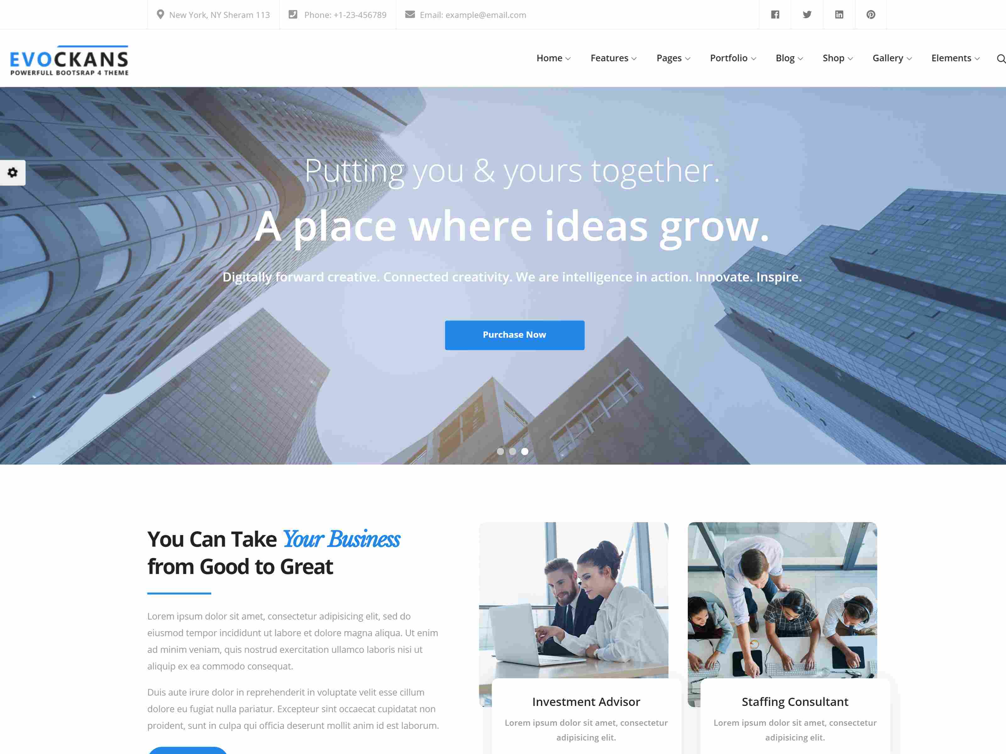 Best Premium Consulting Firms Drupal Themes