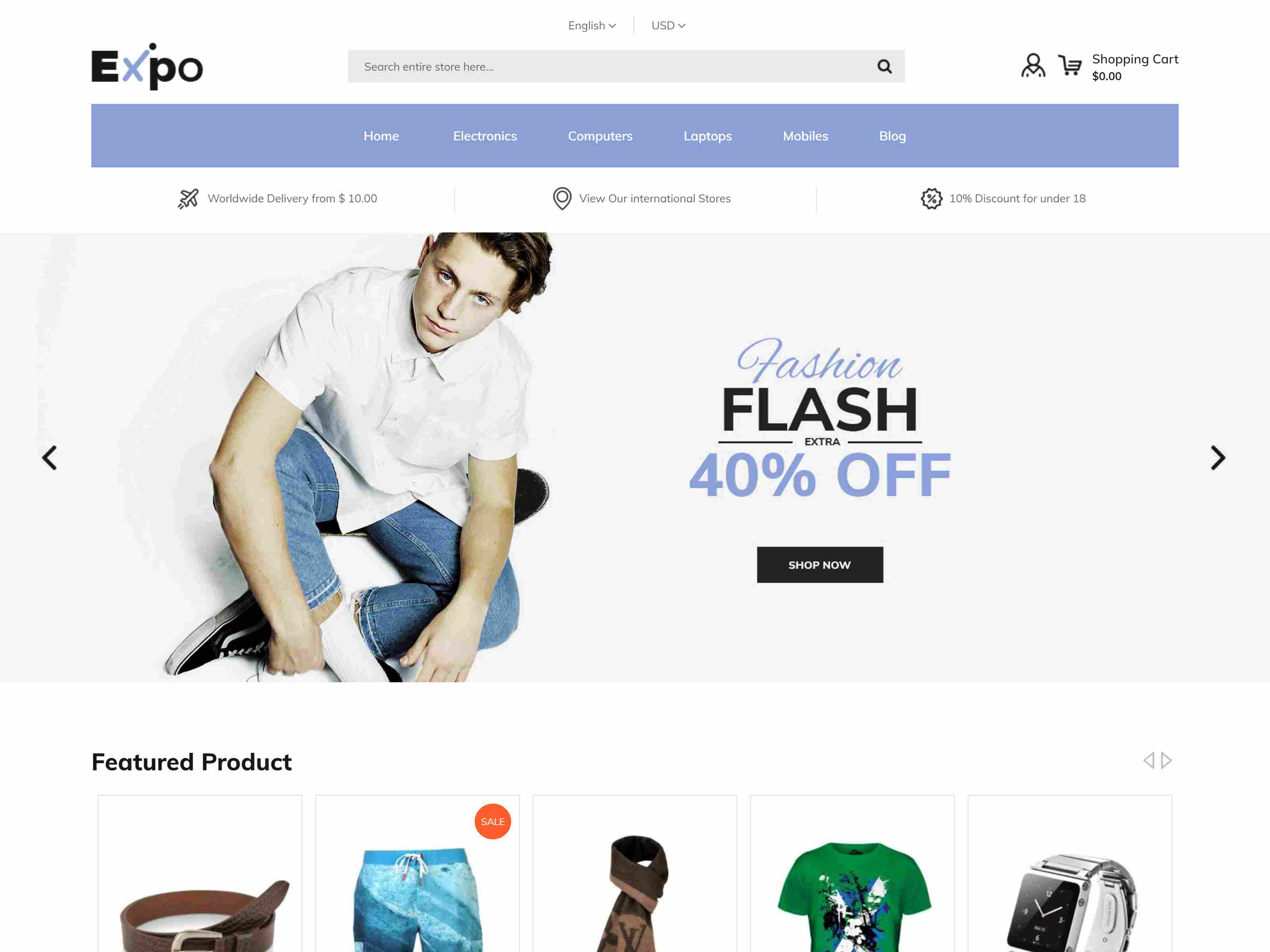 Expo - Multipurpose Responsive Magento2 Theme | Fashion Electronics Auto Cosmetic & Food