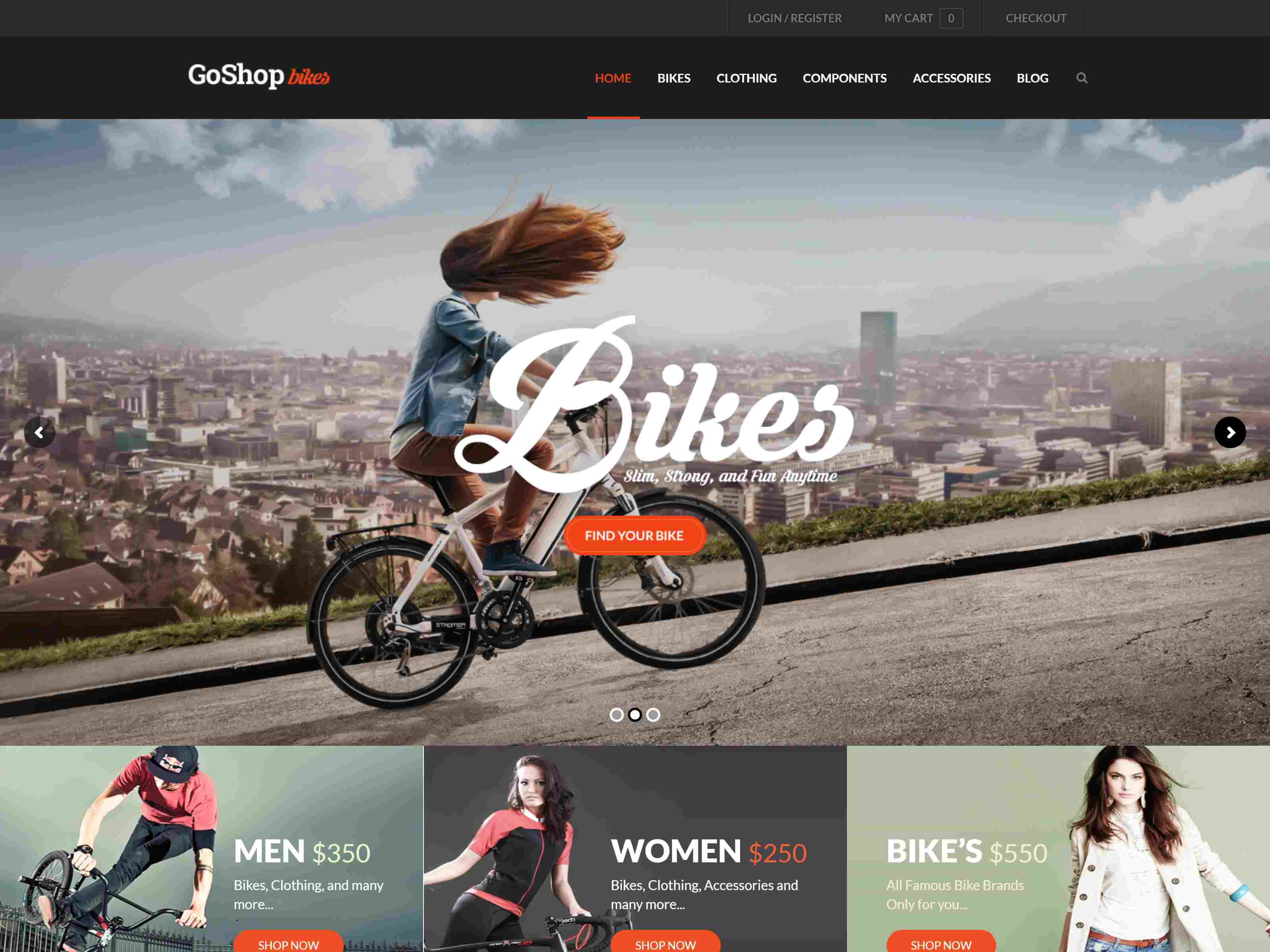 Best Premium Bicycle Drupal Themes