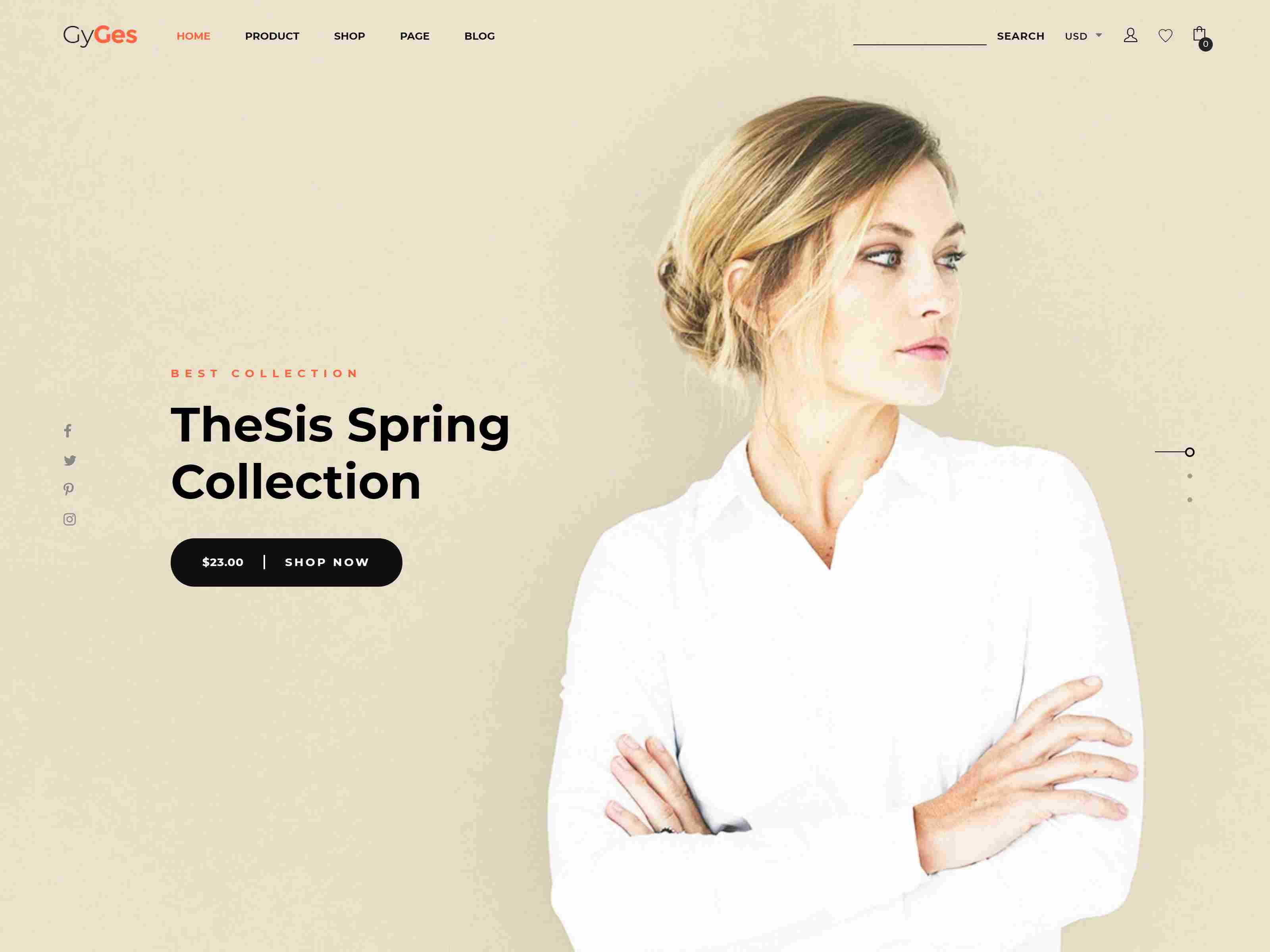 GyGes - Multipurpose Shopify Sections Theme