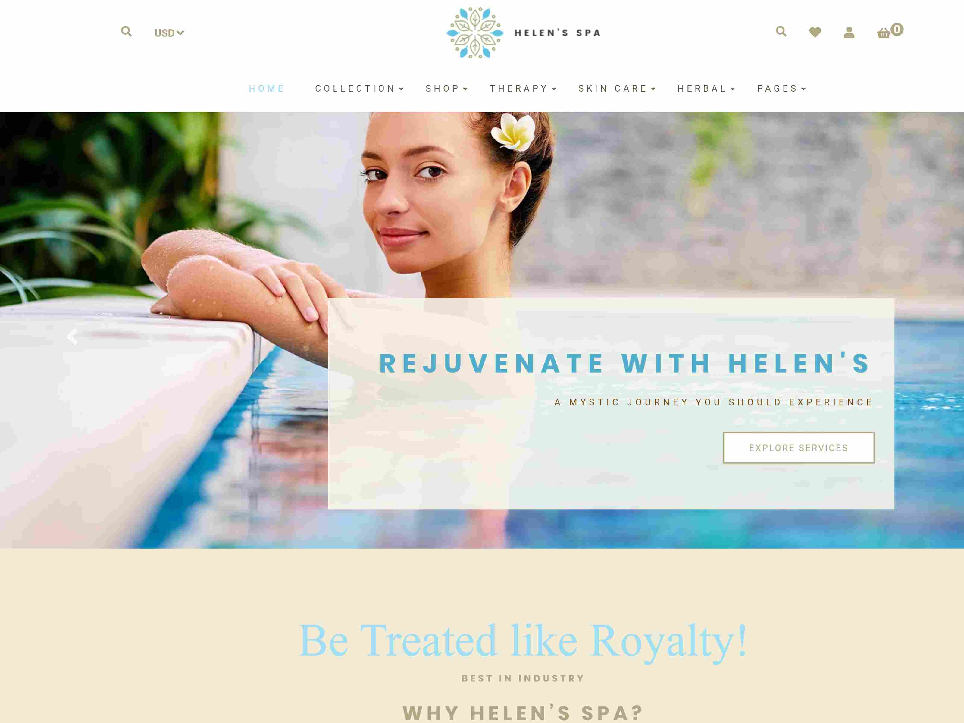 Best Premium SPA Shopify Themes