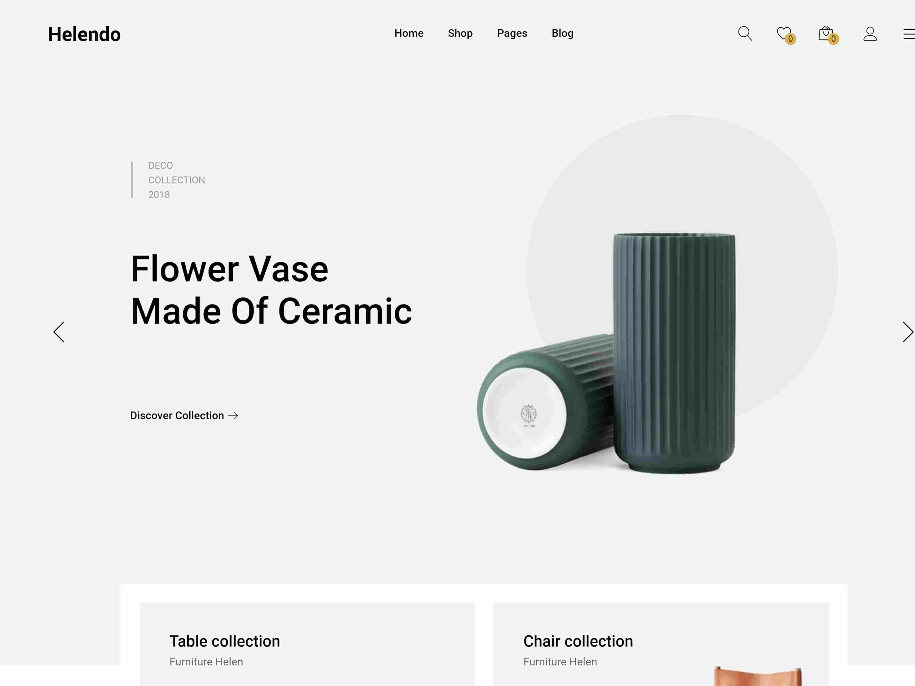 Helendo - Furniture eCommerce WordPress Theme