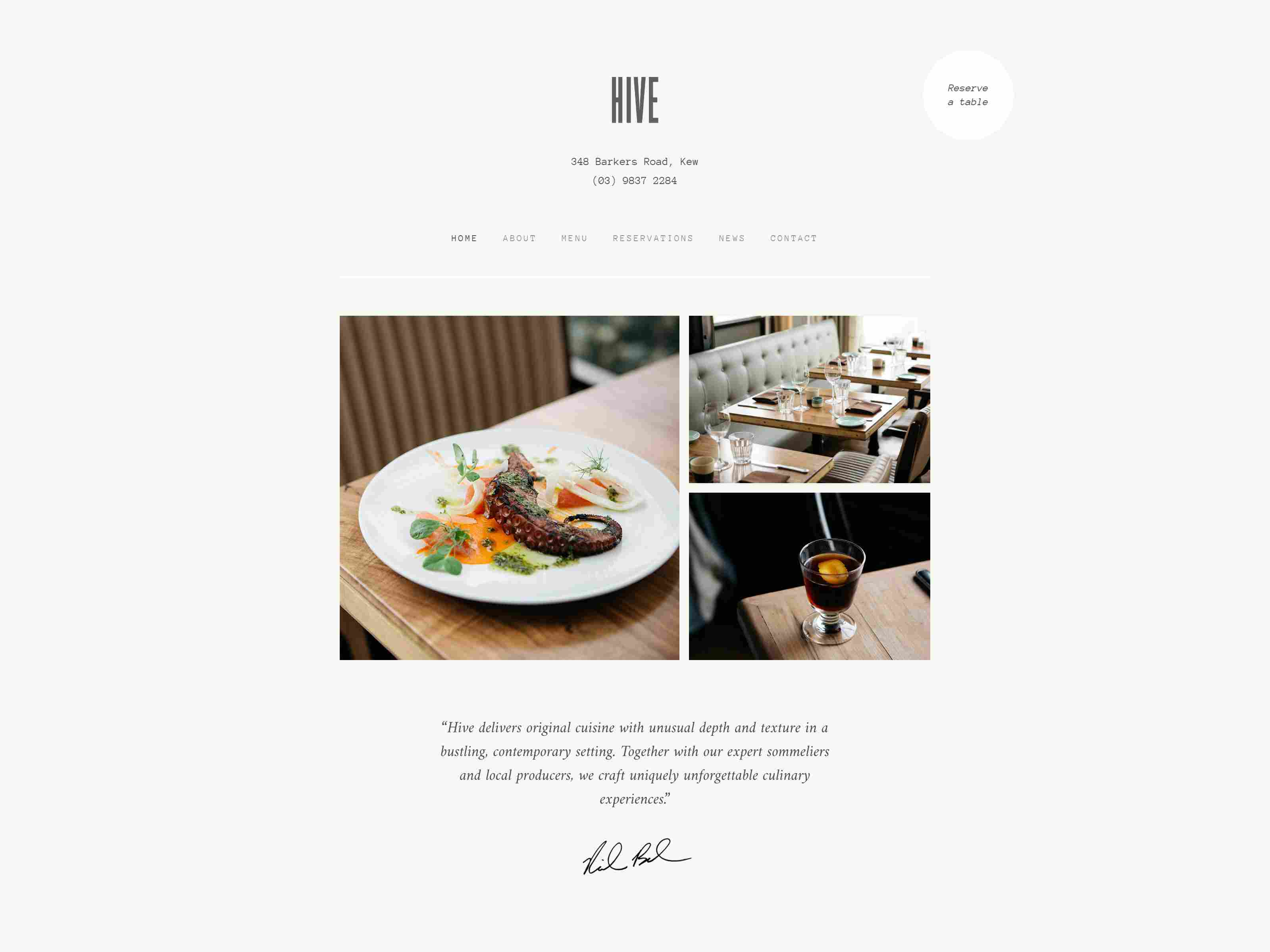 Best Premium Restaurant Webflow Themes