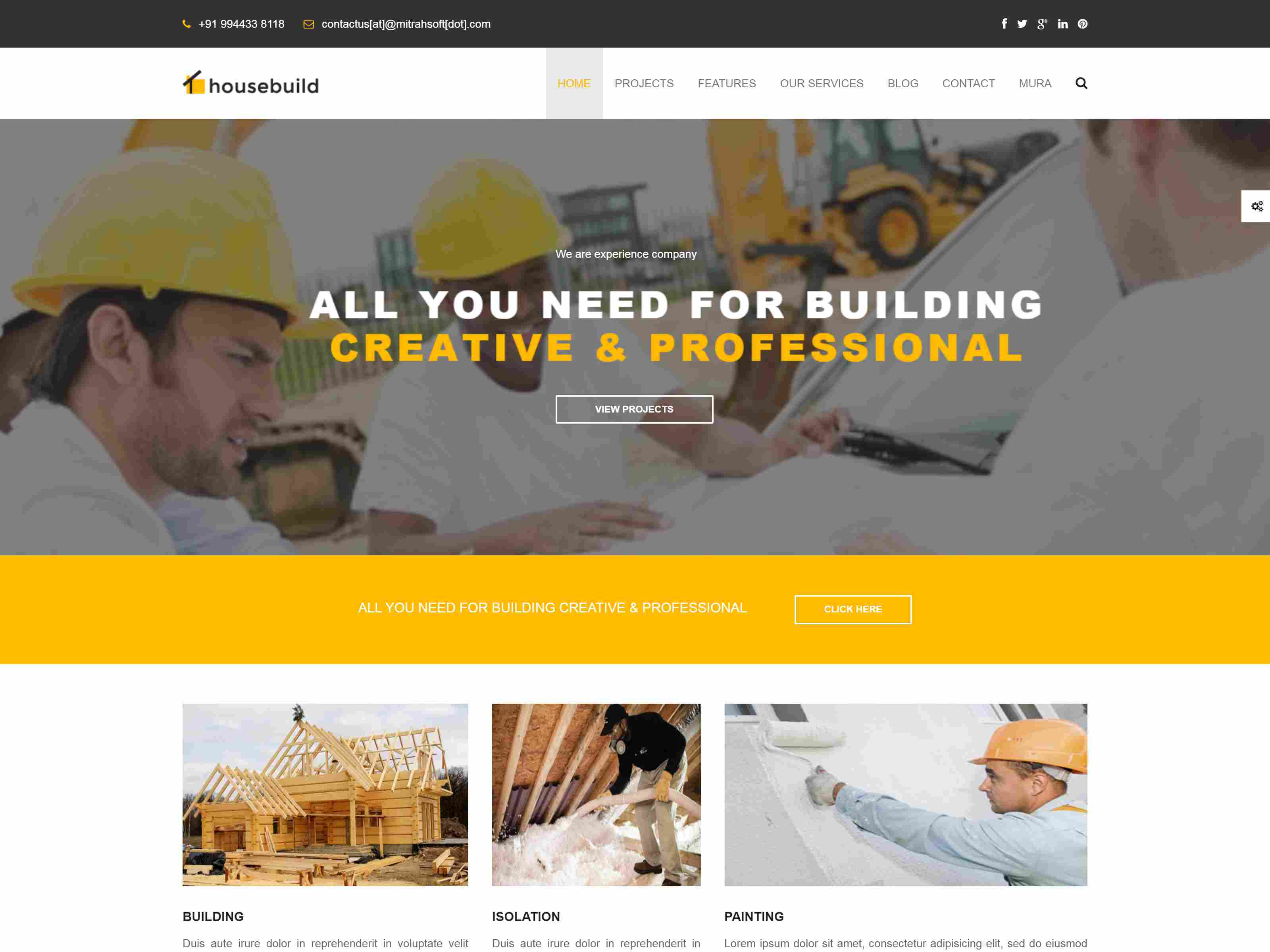 Best Premium Construction Mura Themes