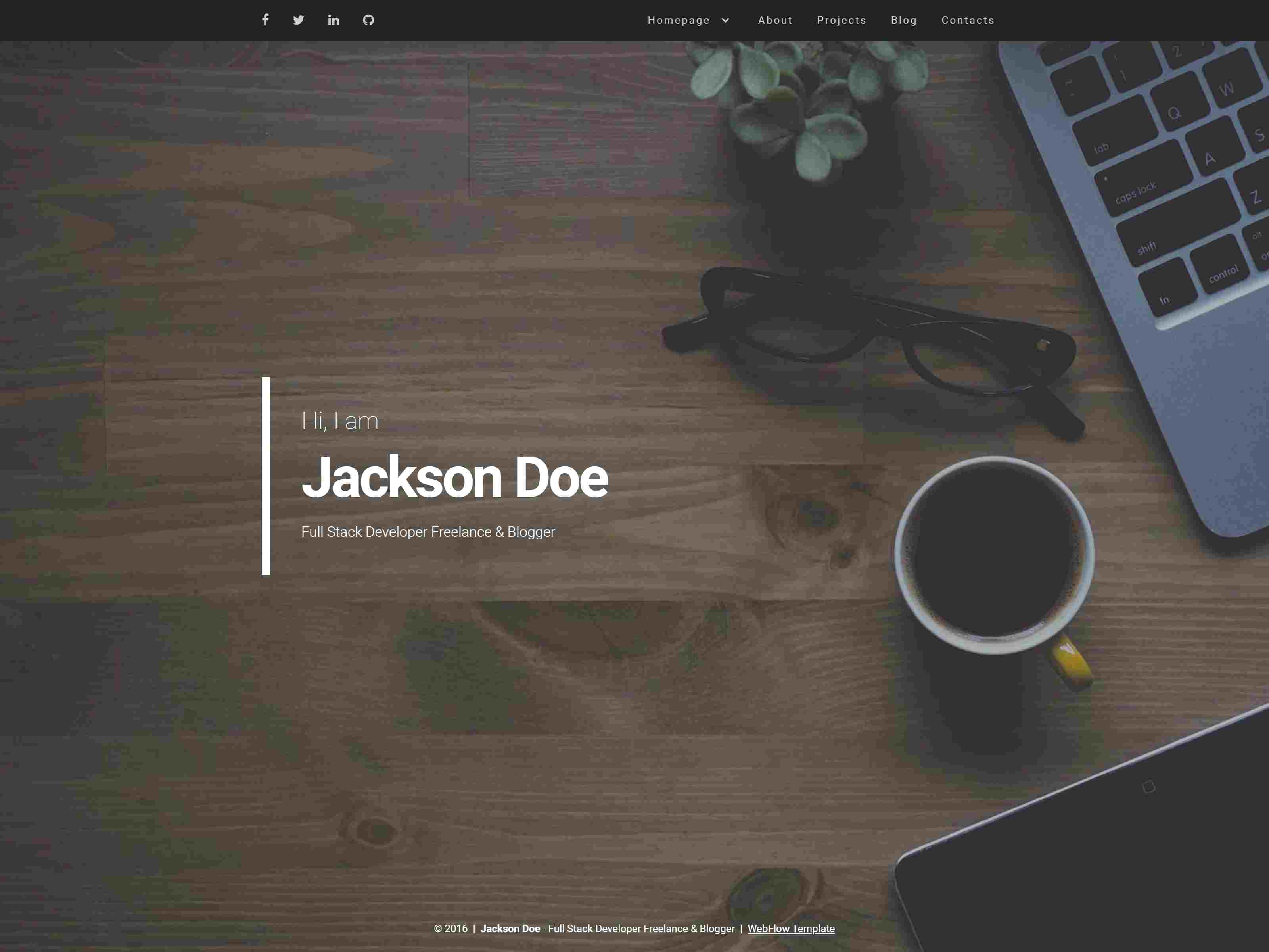 Best Premium Resume Webflow Themes