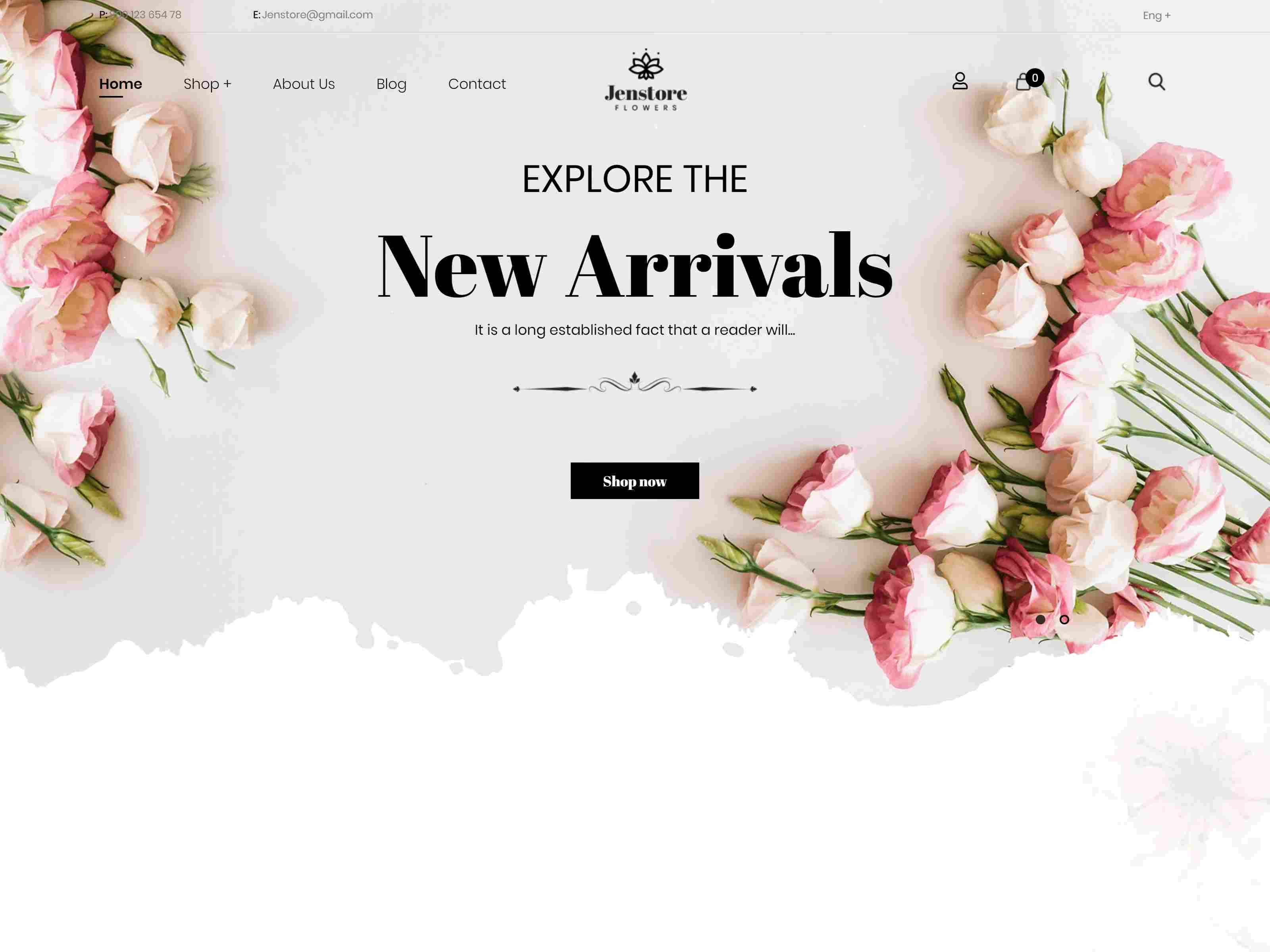 JenStore | Multi-Purpose Shopify Theme for Flower Store