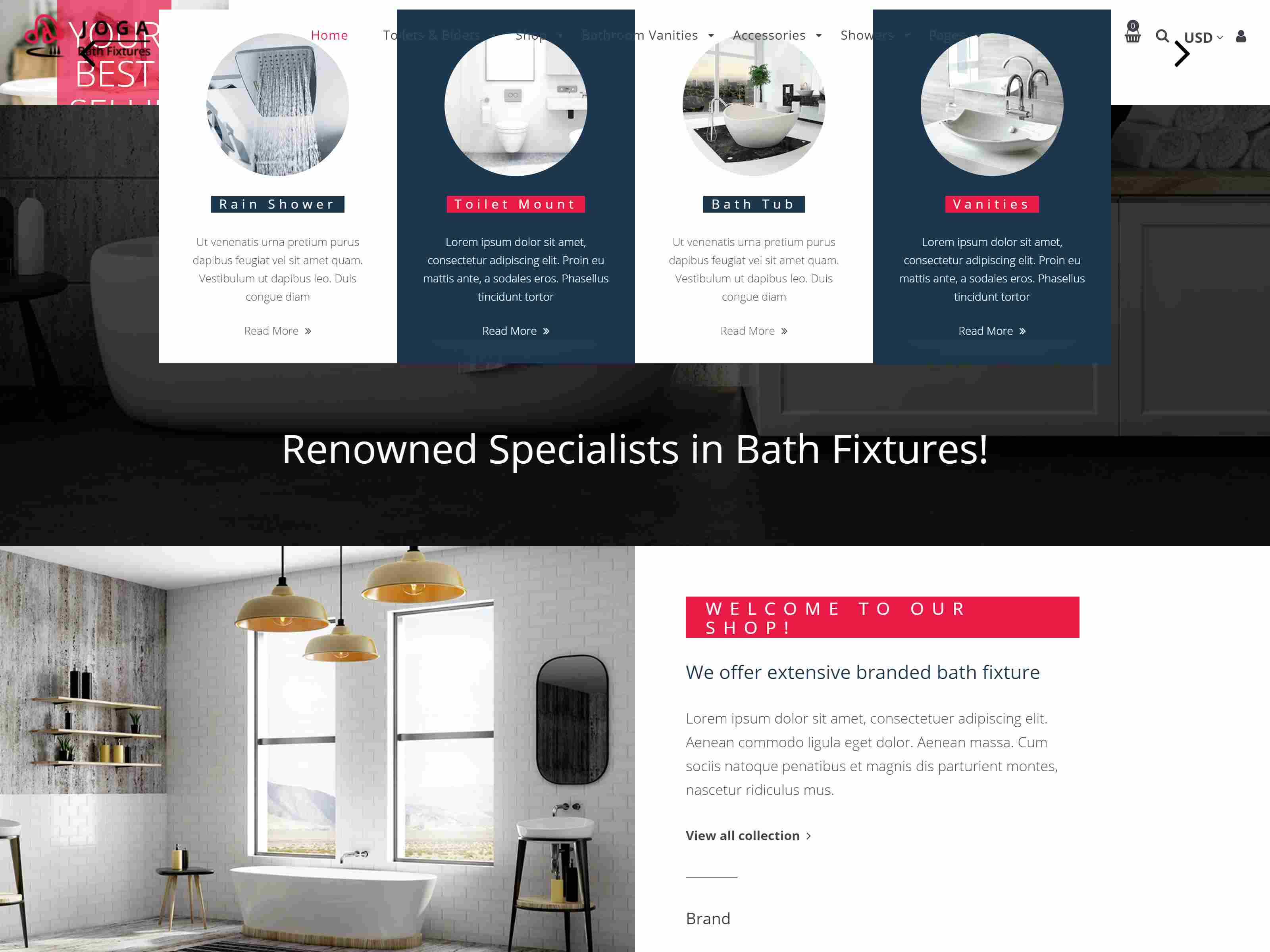 Joga | Kitchen Store, Bathroom Furniture Shopify Theme