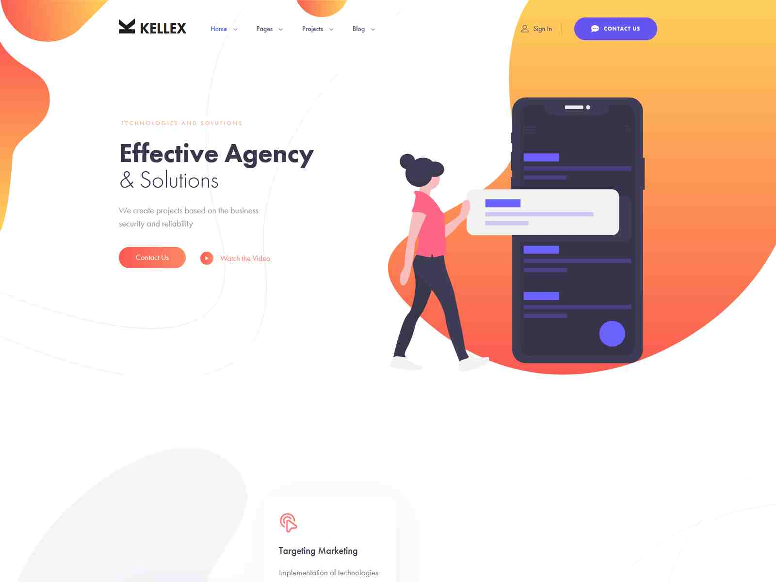 Kellex - WordPress Theme for Saas and Agencies