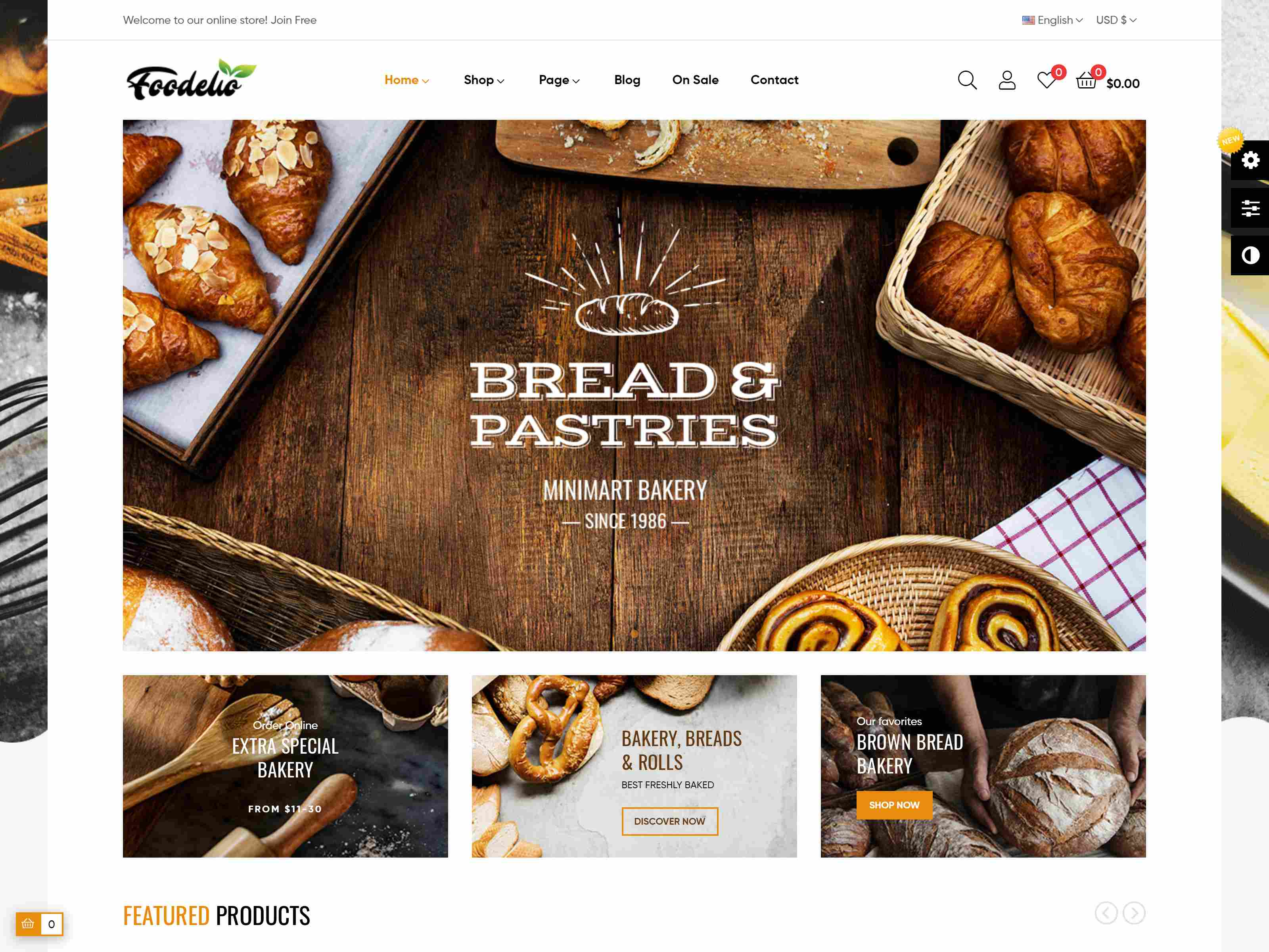 Leo Foodelic - Organic Food Store Prestashop Theme