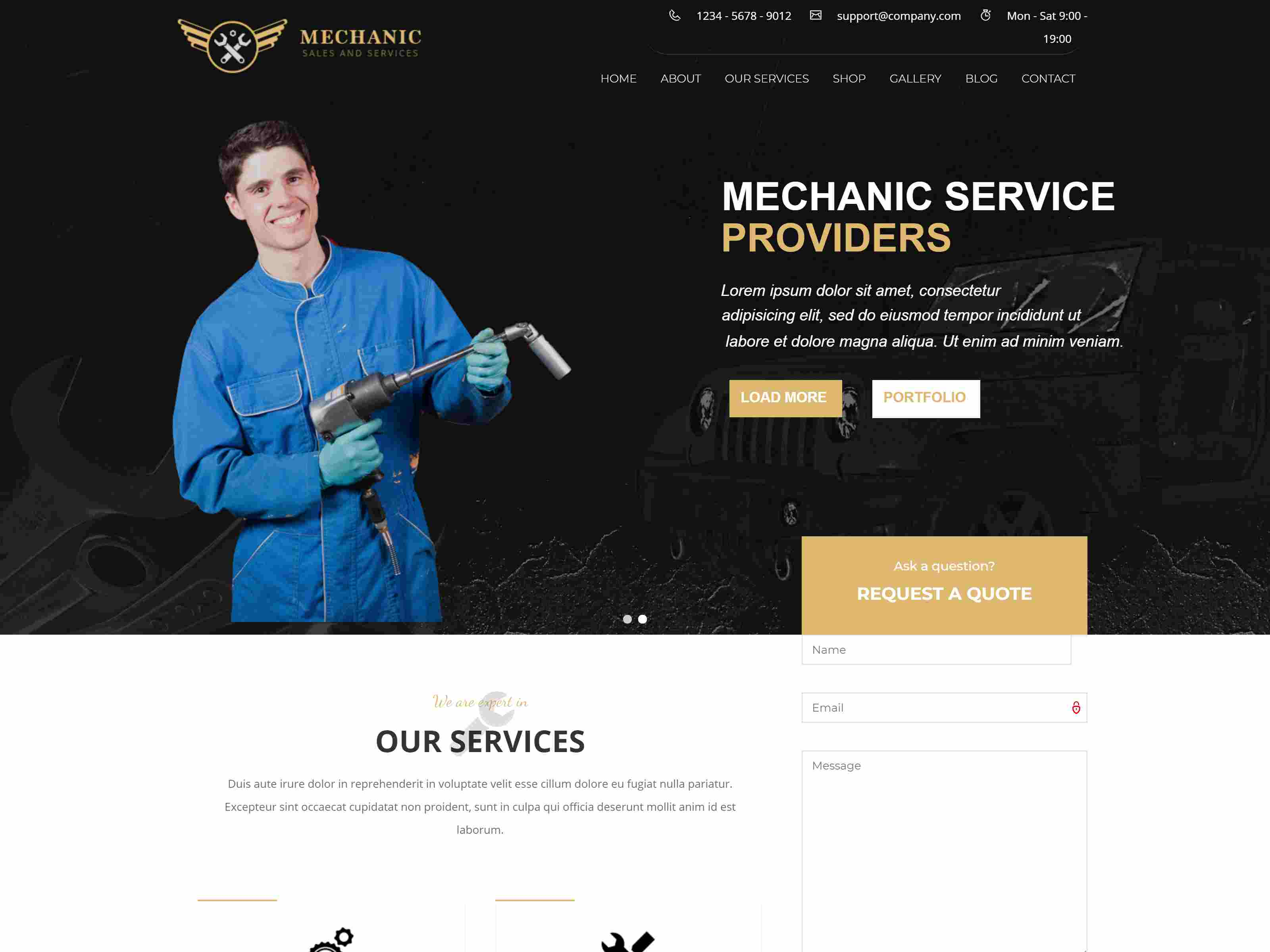 Best Premium Maintenance Drupal Themes