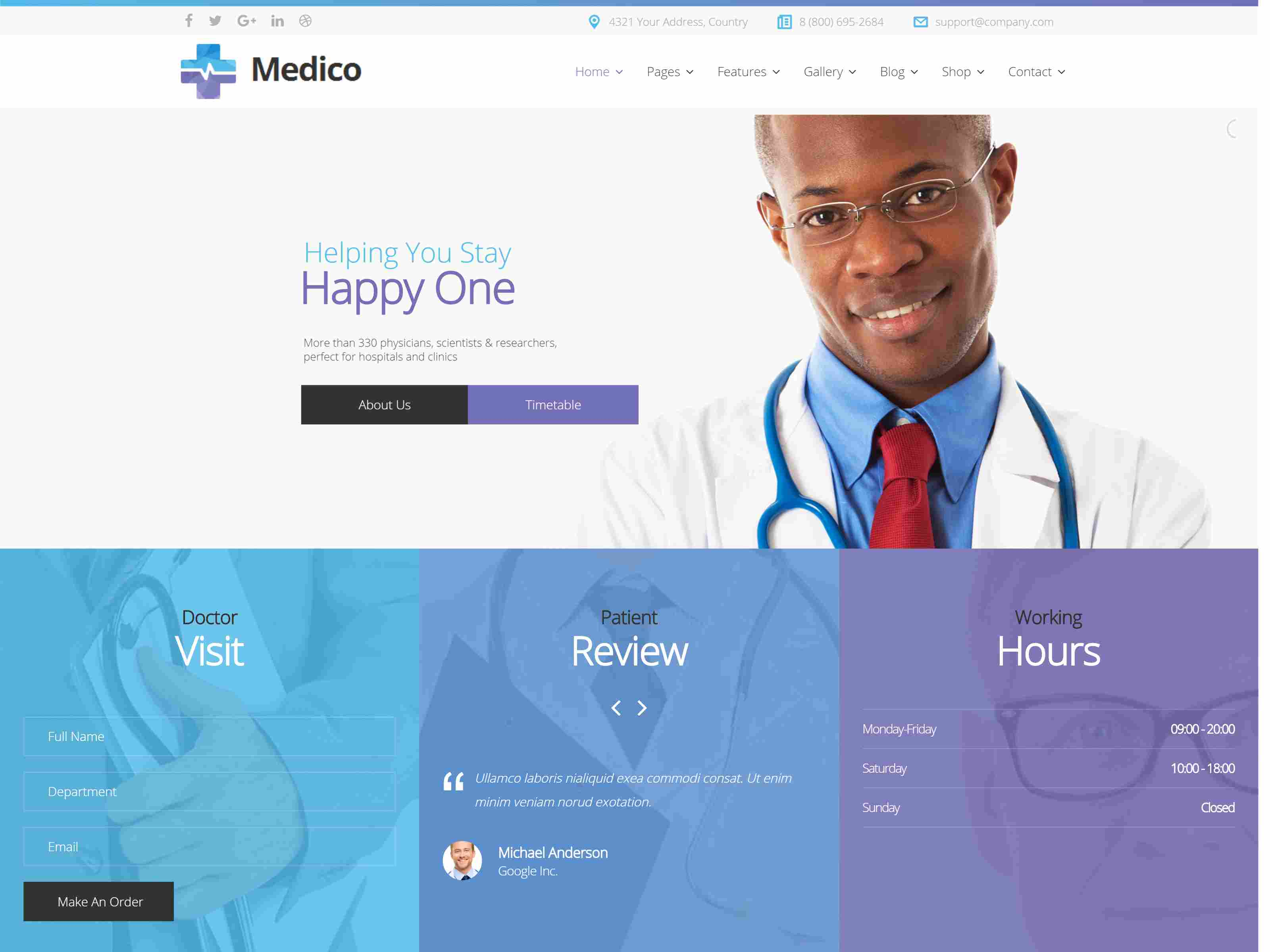 Best Premium Clinic Joomla Themes