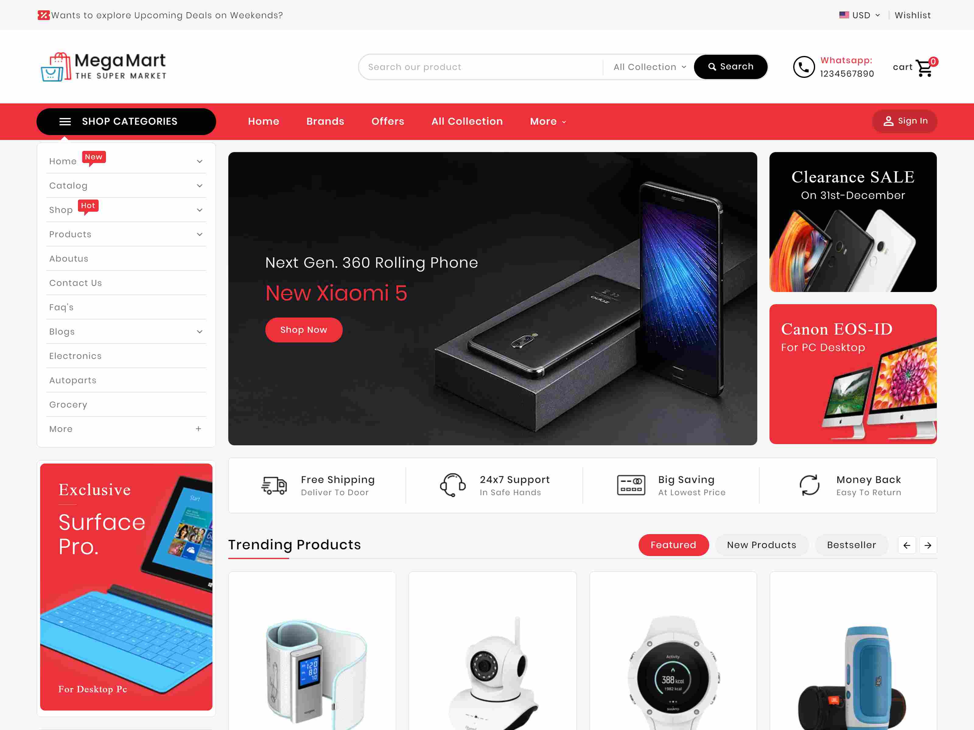 Mega Mart - Shopify Multi-Purpose Responsive Theme