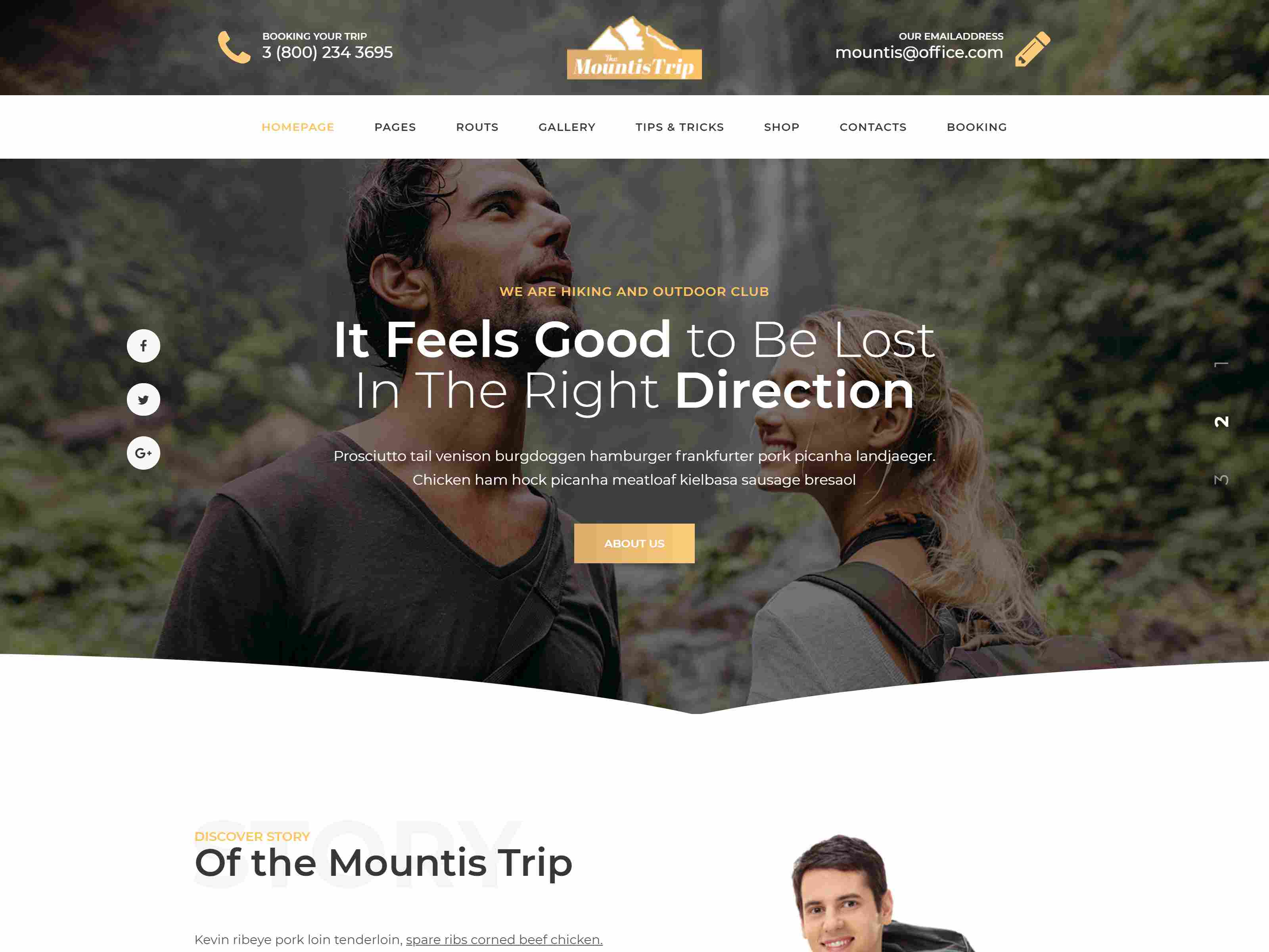 Best Premium Hiking Joomla Themes
