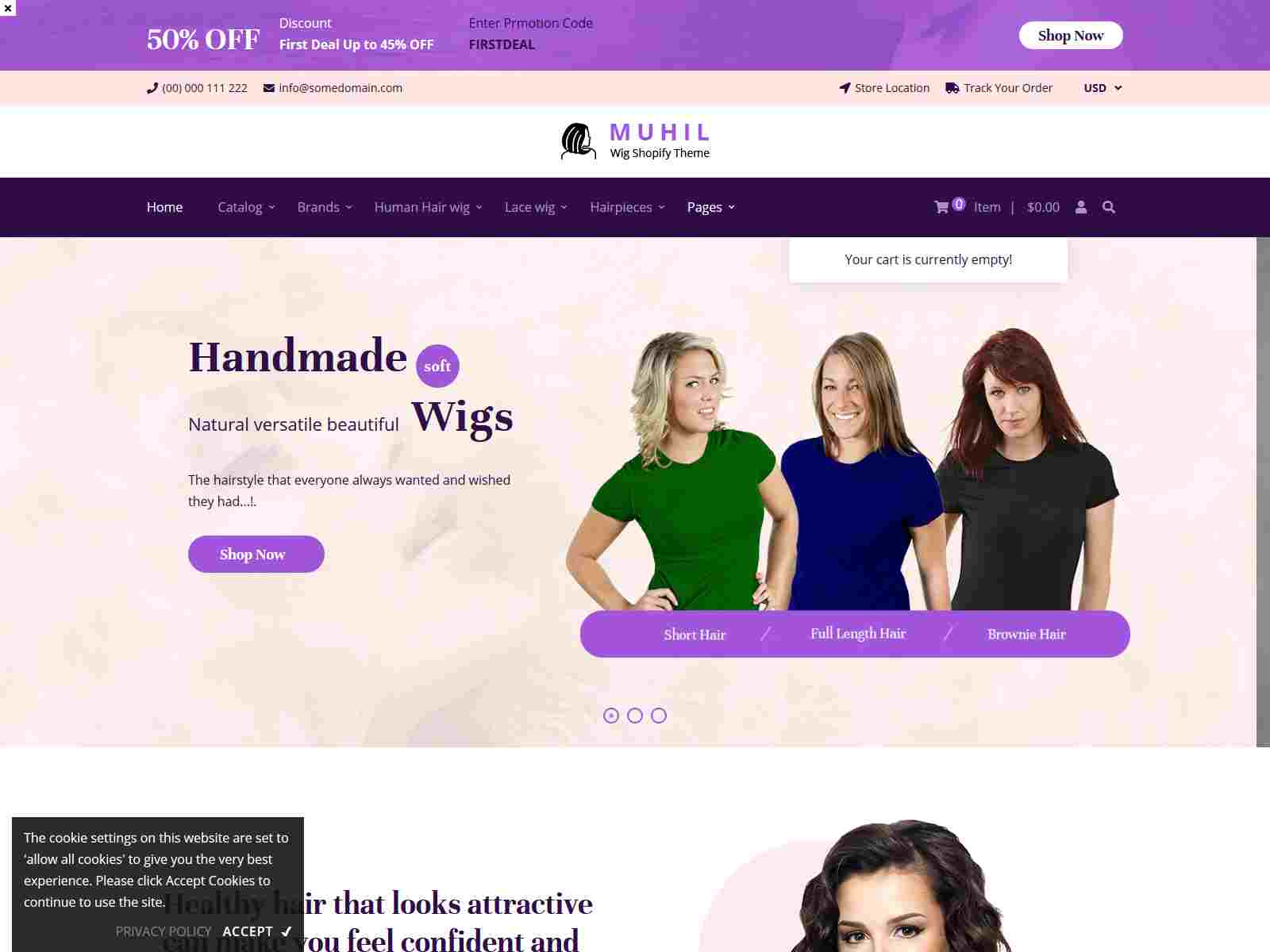 Best Premium Salon Shopify Themes