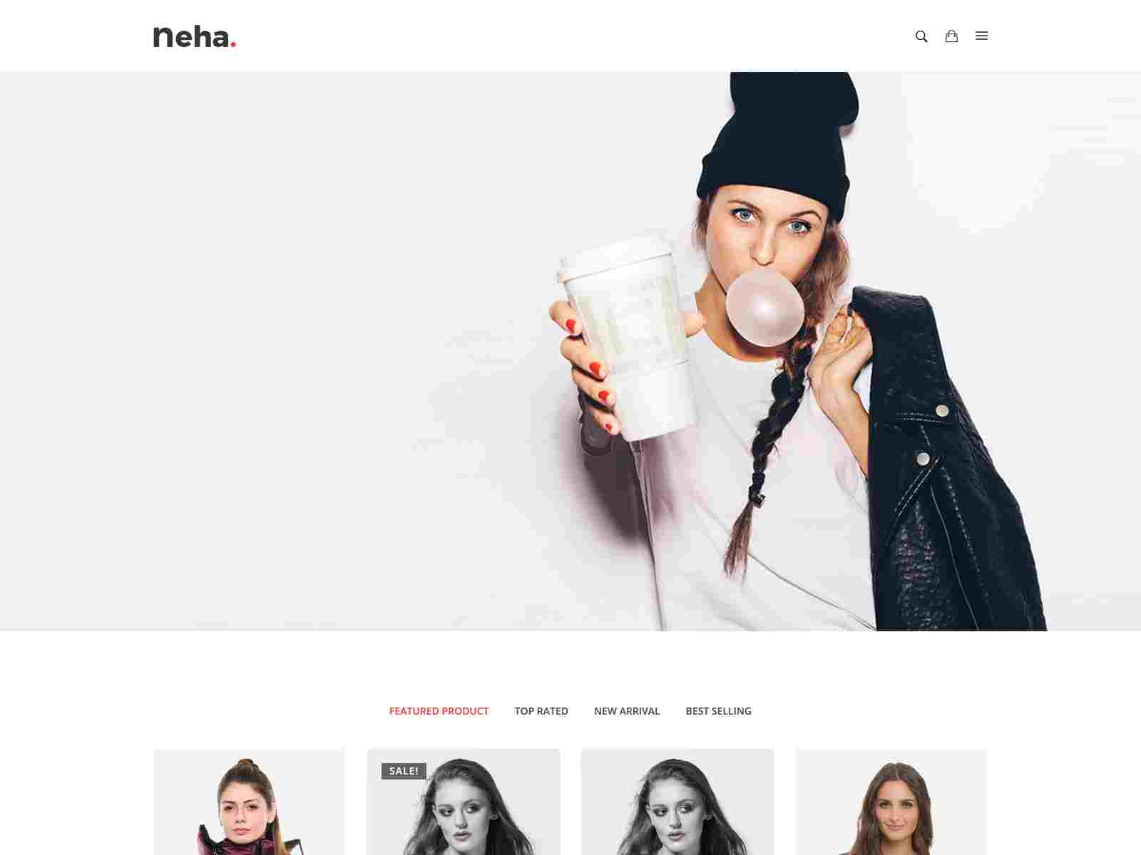 Multipurpose Responsive Shopify Theme - Neha