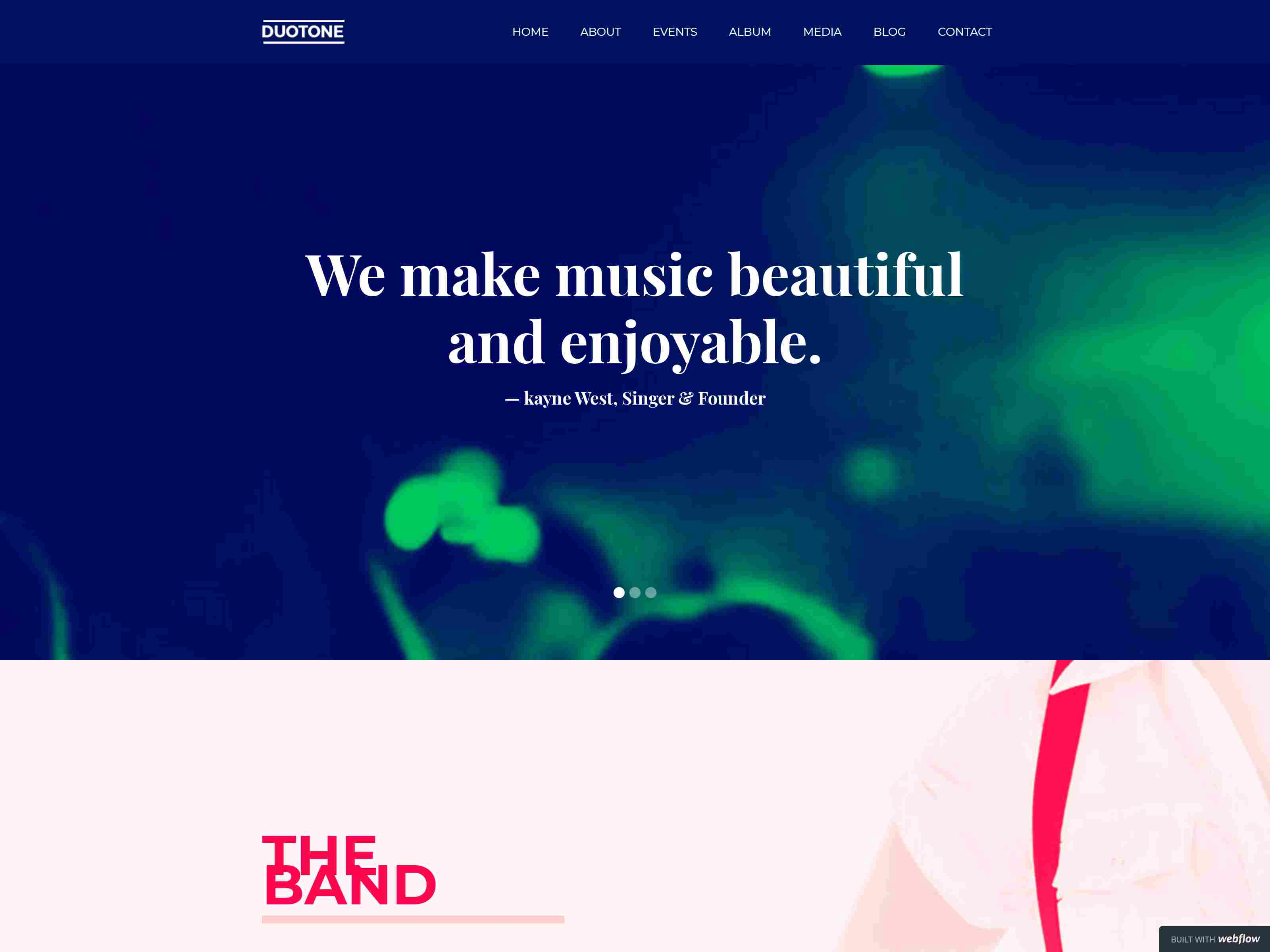Best Premium Event Webflow Themes