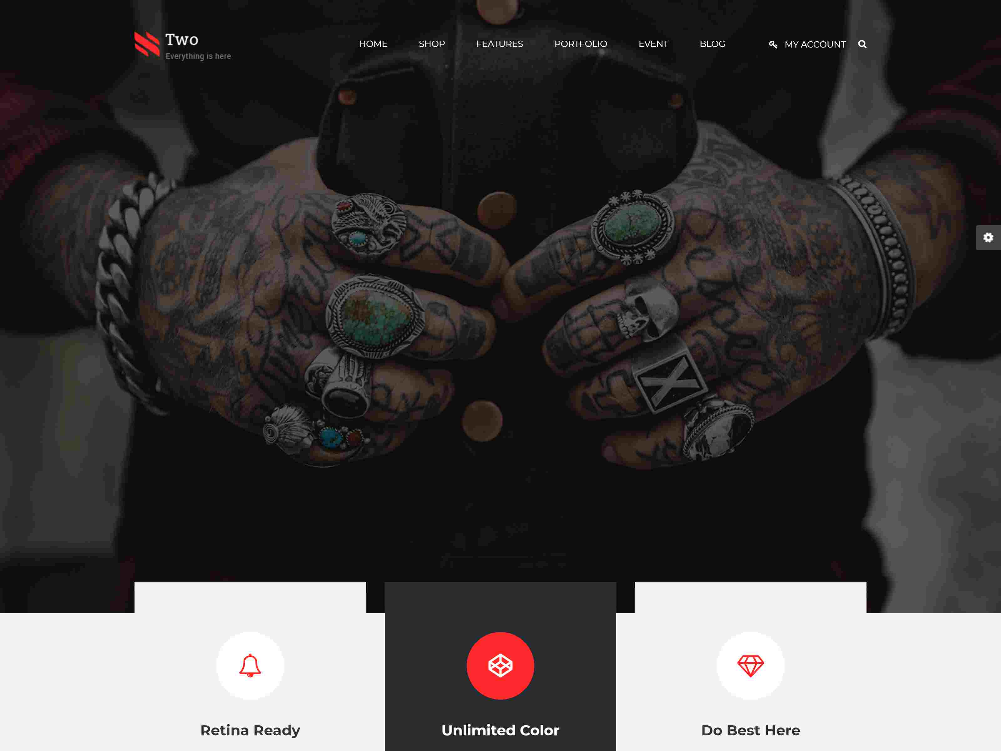 NumberTwo - Responsive Creative Multipurpose Drupal 8.8 Theme
